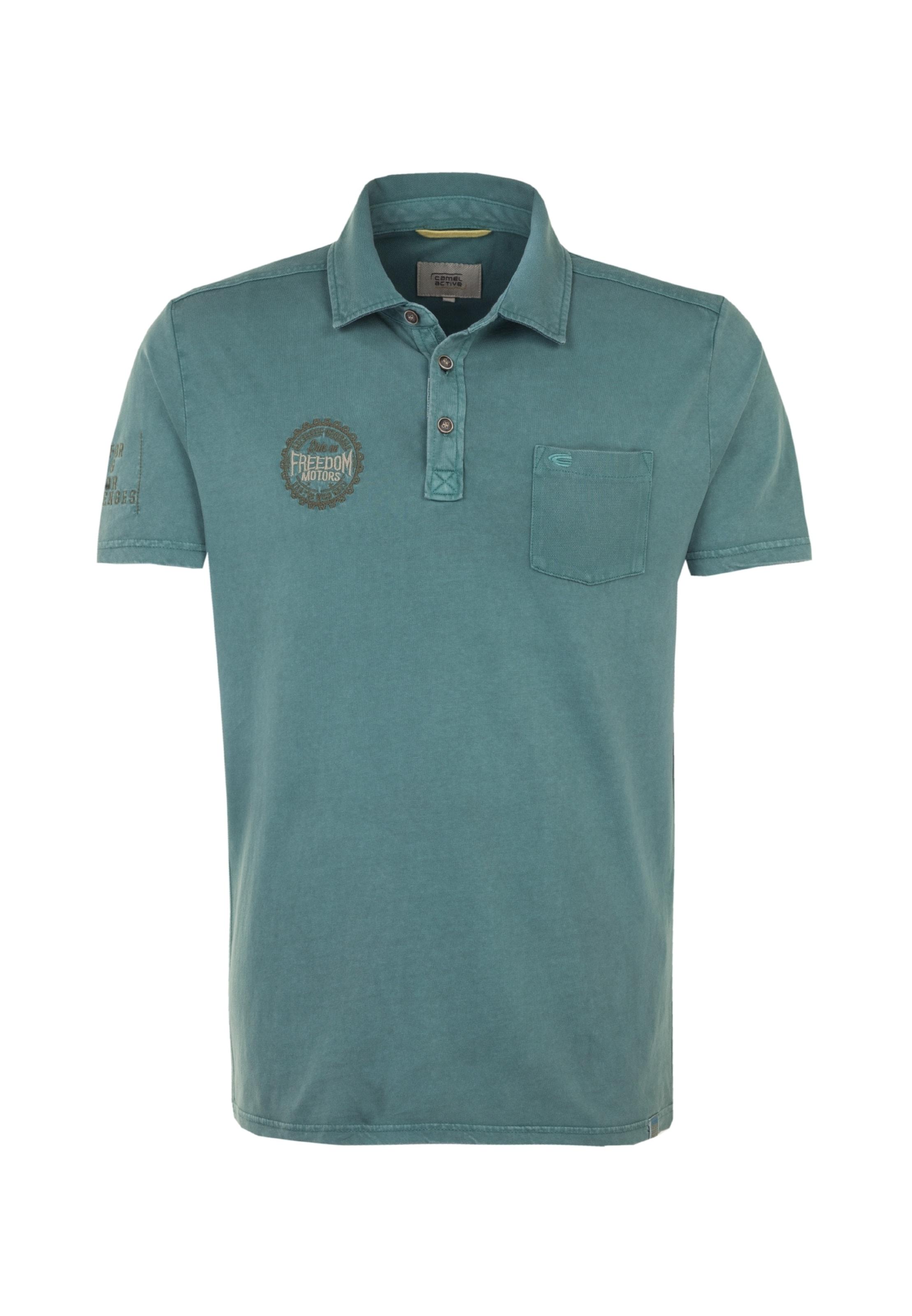 T Camel Active Bleu En Marine shirt 9DIWE2H
