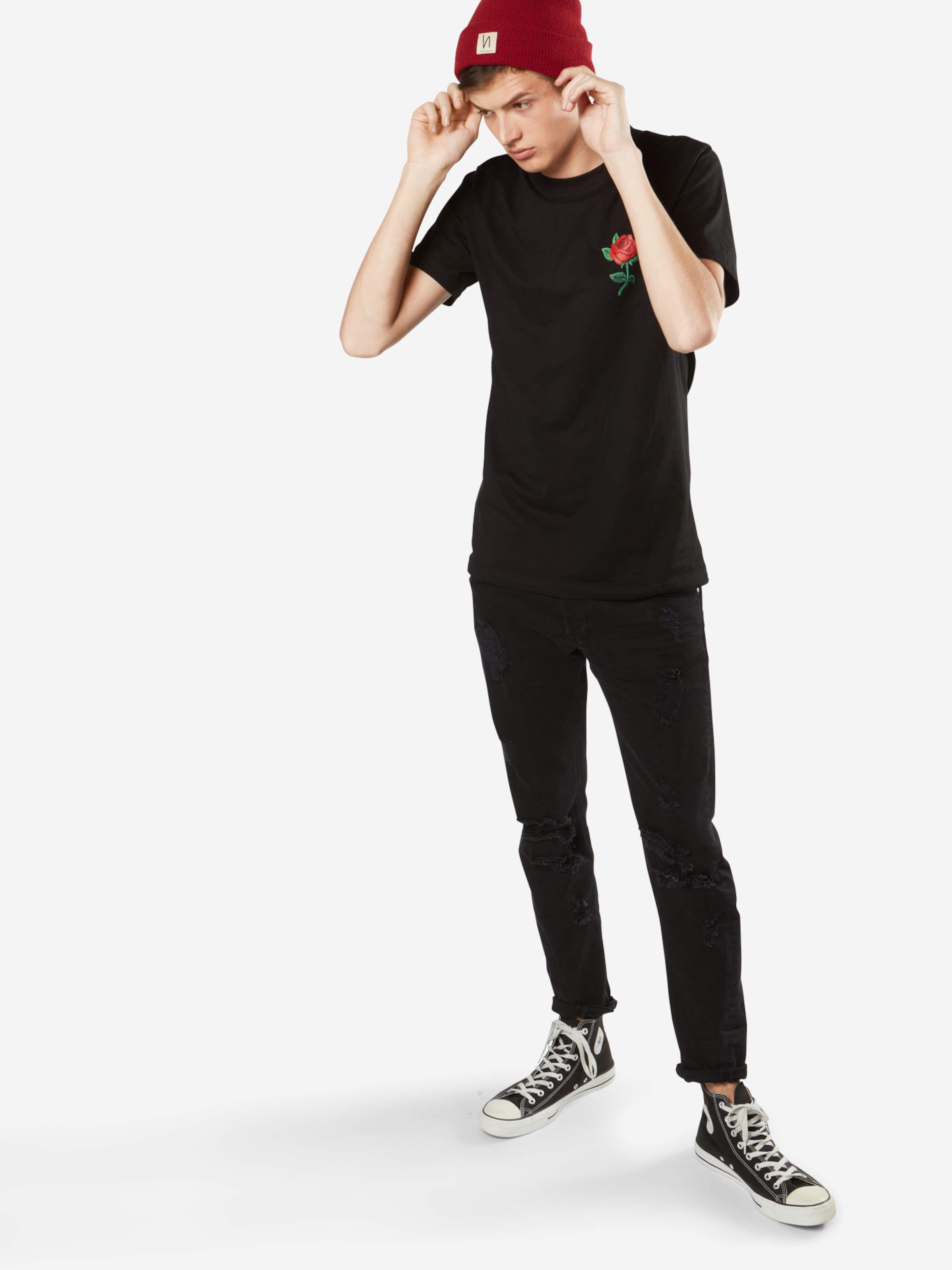 Mister Feu T VertRouge Tee En shirt 'rose' Noir LzVjSqUpGM