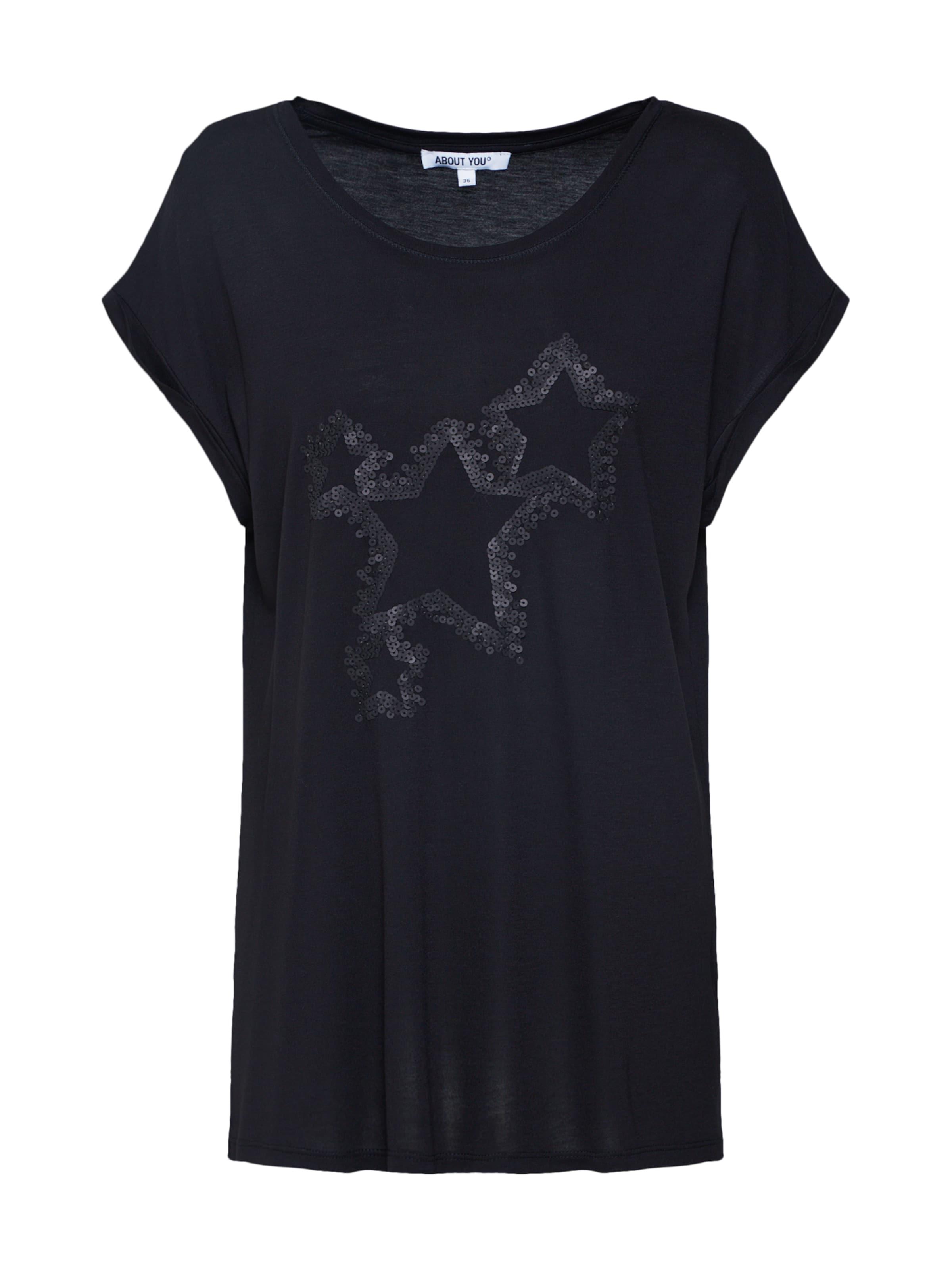 You T shirt En About Noir 'aurelia' F1clJK