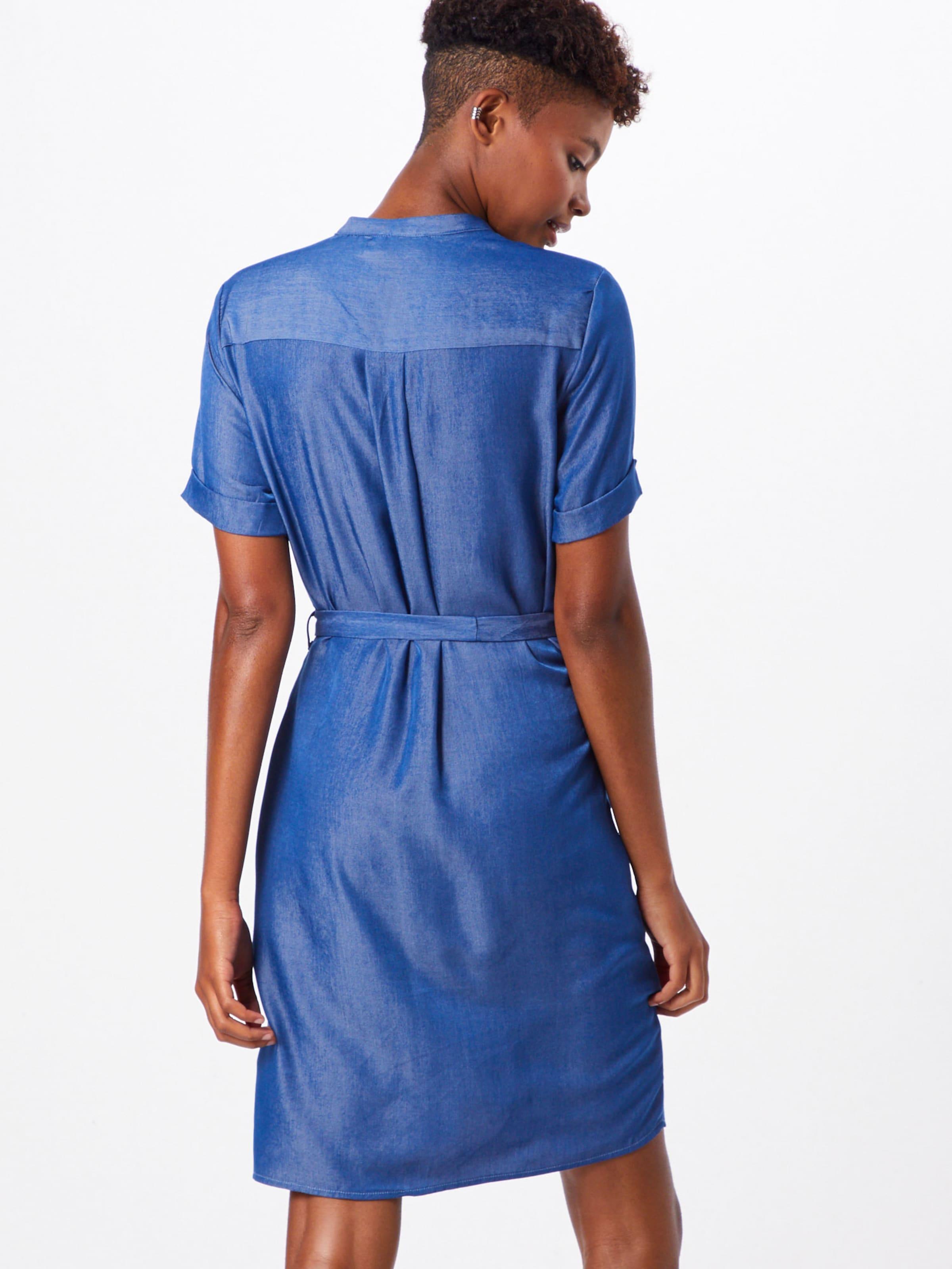 Robe dr Bleu Sisters Point 'valsi ss' En chemise 67gybvIYfm