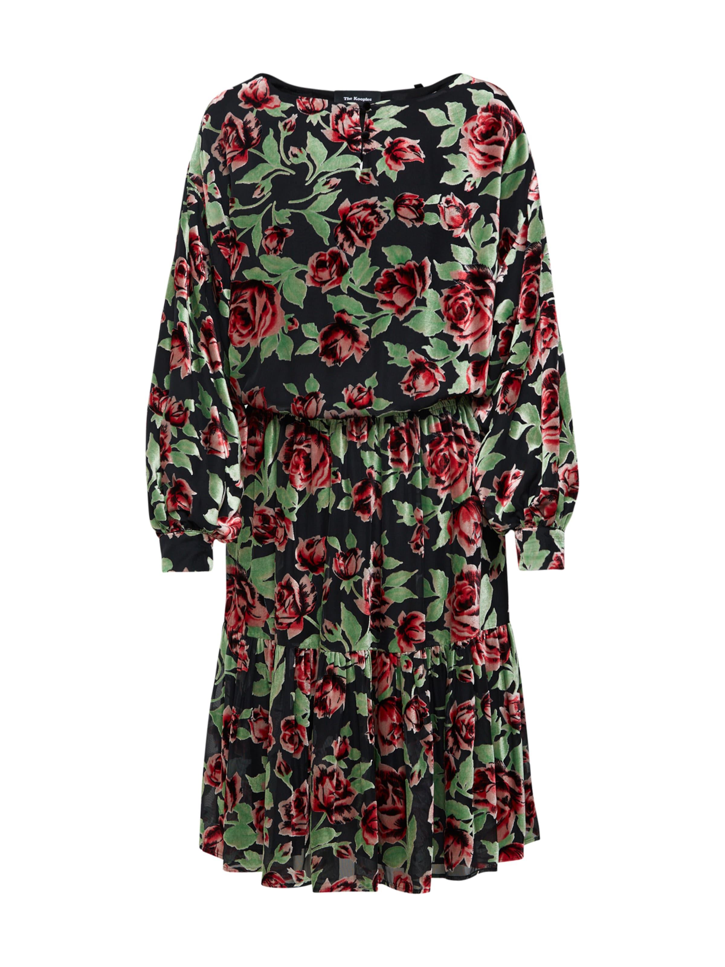 ClairRouge Carmin The Kooples Robe En Vert UVSMzpLqGj