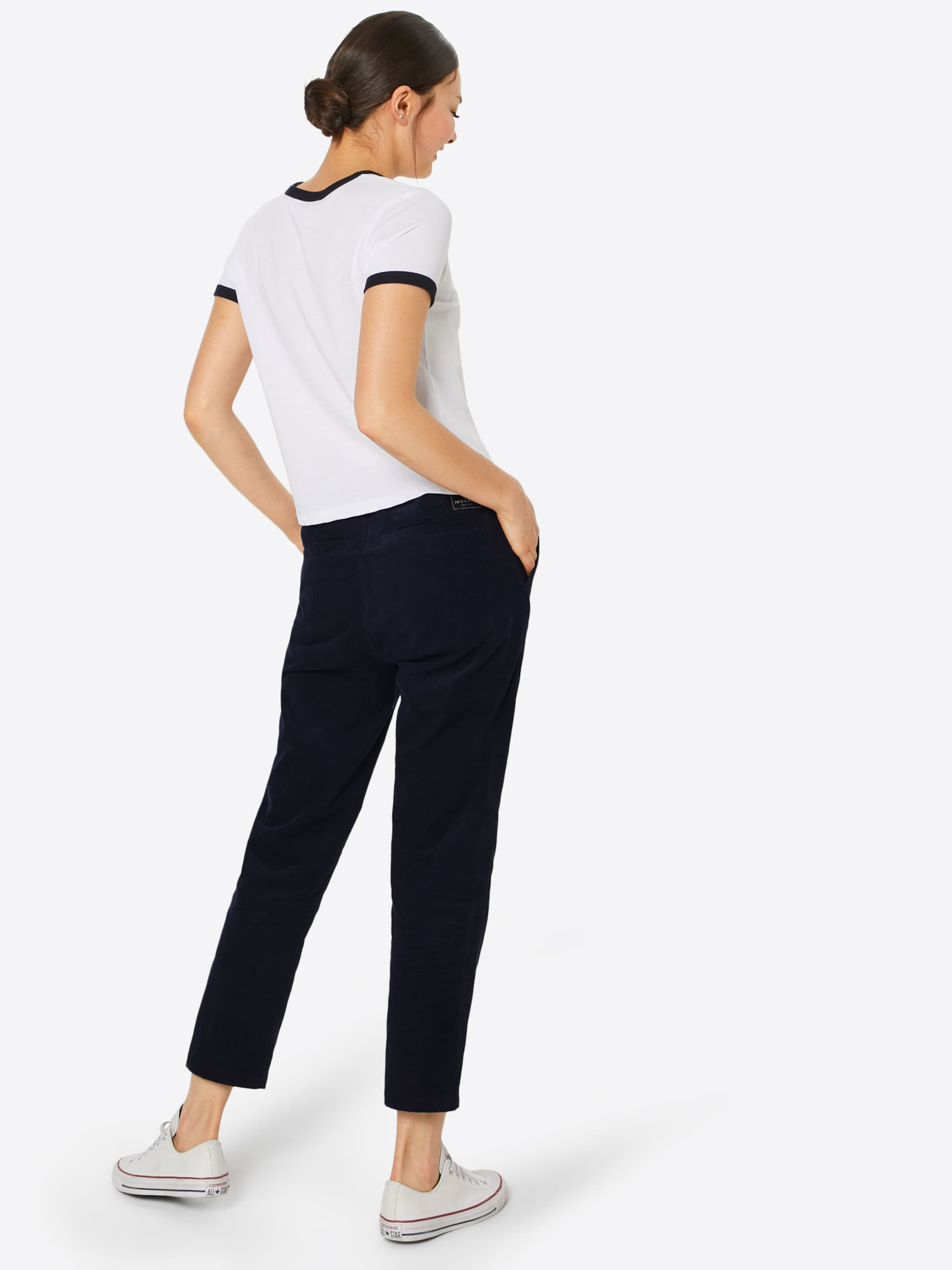 Iriedaily Pantalon Chino 'lu Bleu Chino' En Marine 8mNn0w