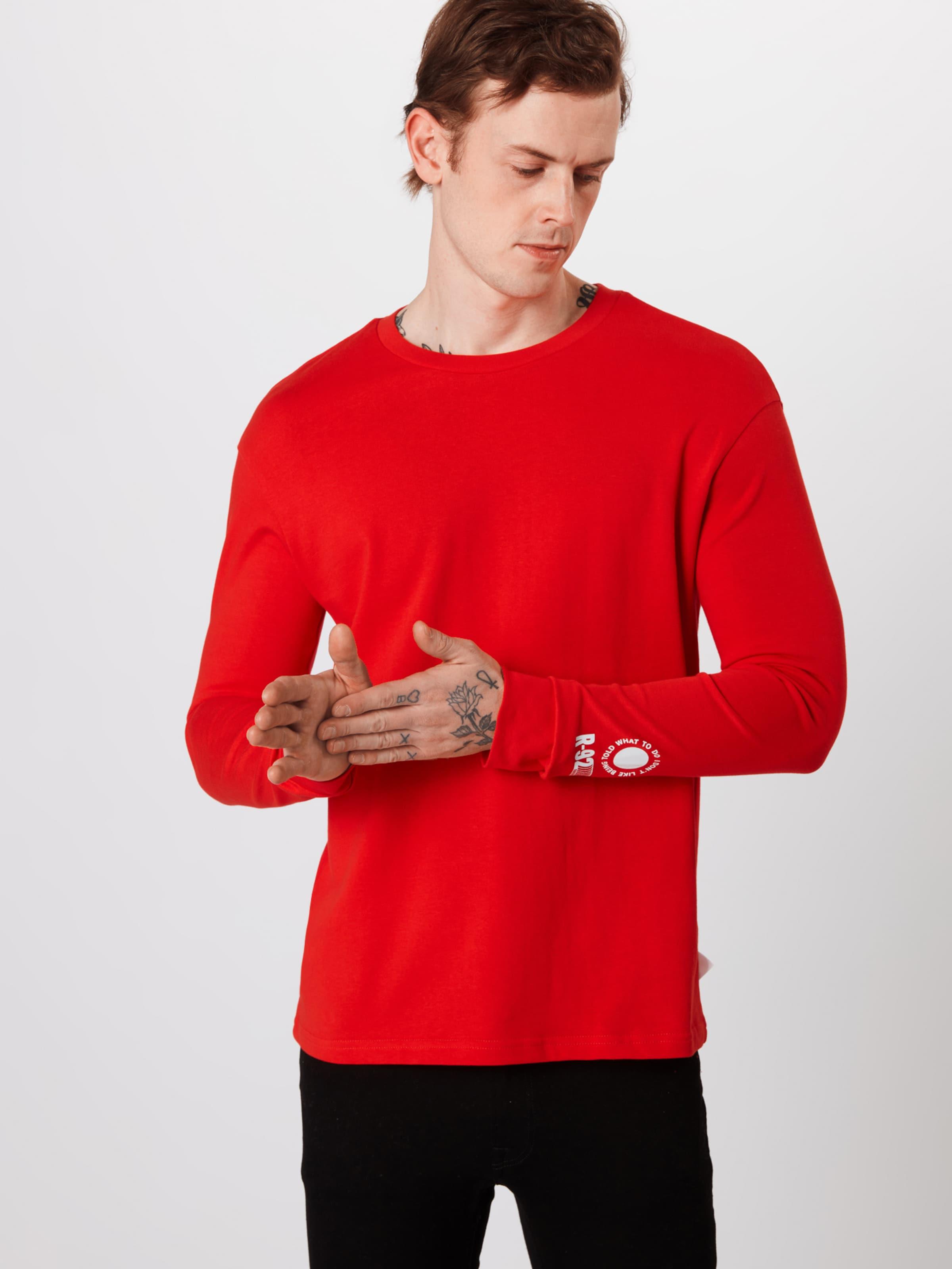 T 'ls shirt RougeBlanc En Review Print' wXO8P0nk