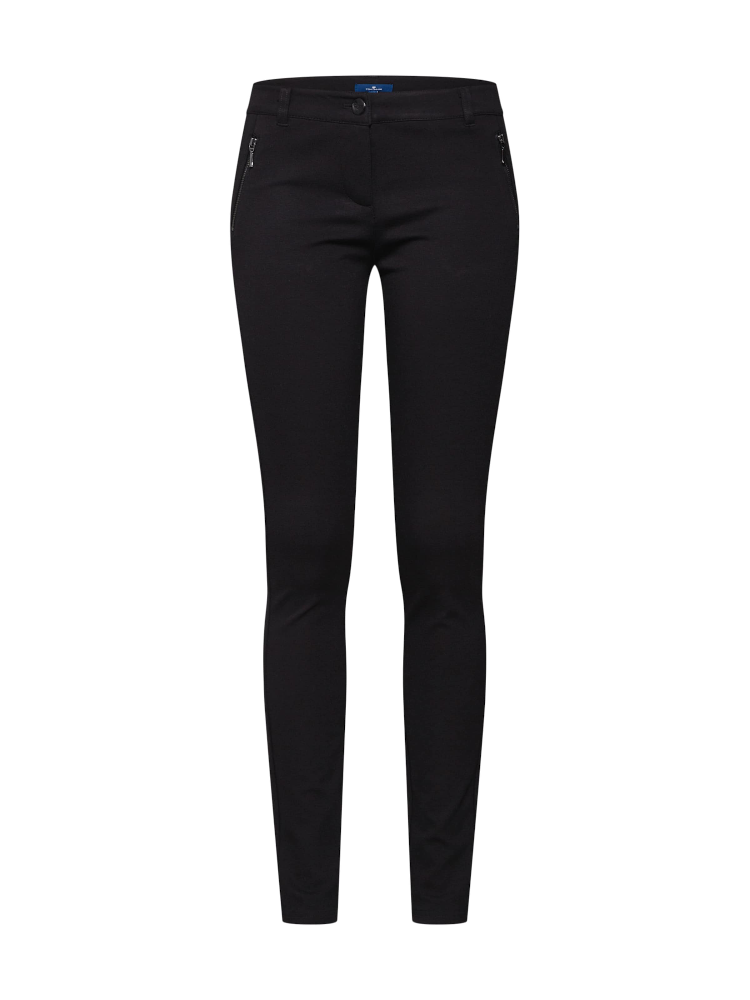 Tom Noir Treggings' En Tailor Pantalon Ponte 'zipped dhCtrxBsQo