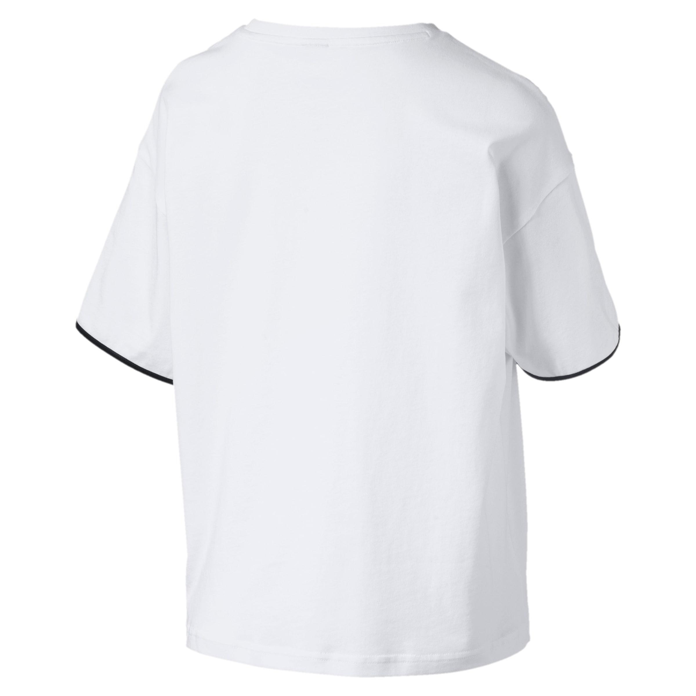 shirt Blanc JauneNoir En Puma T nv08wNOm