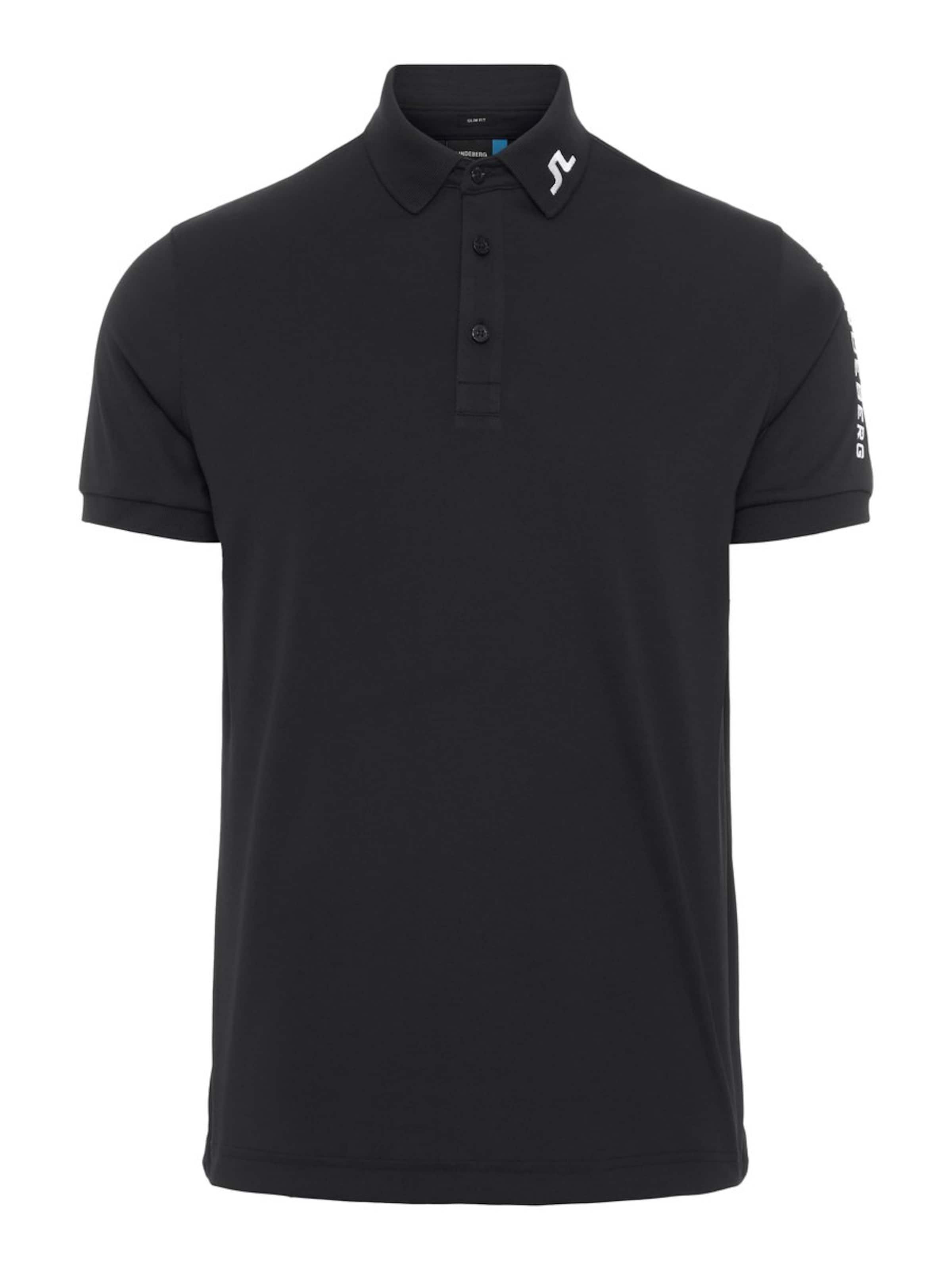 J shirt T Rouge lindeberg En oWdeExBQCr