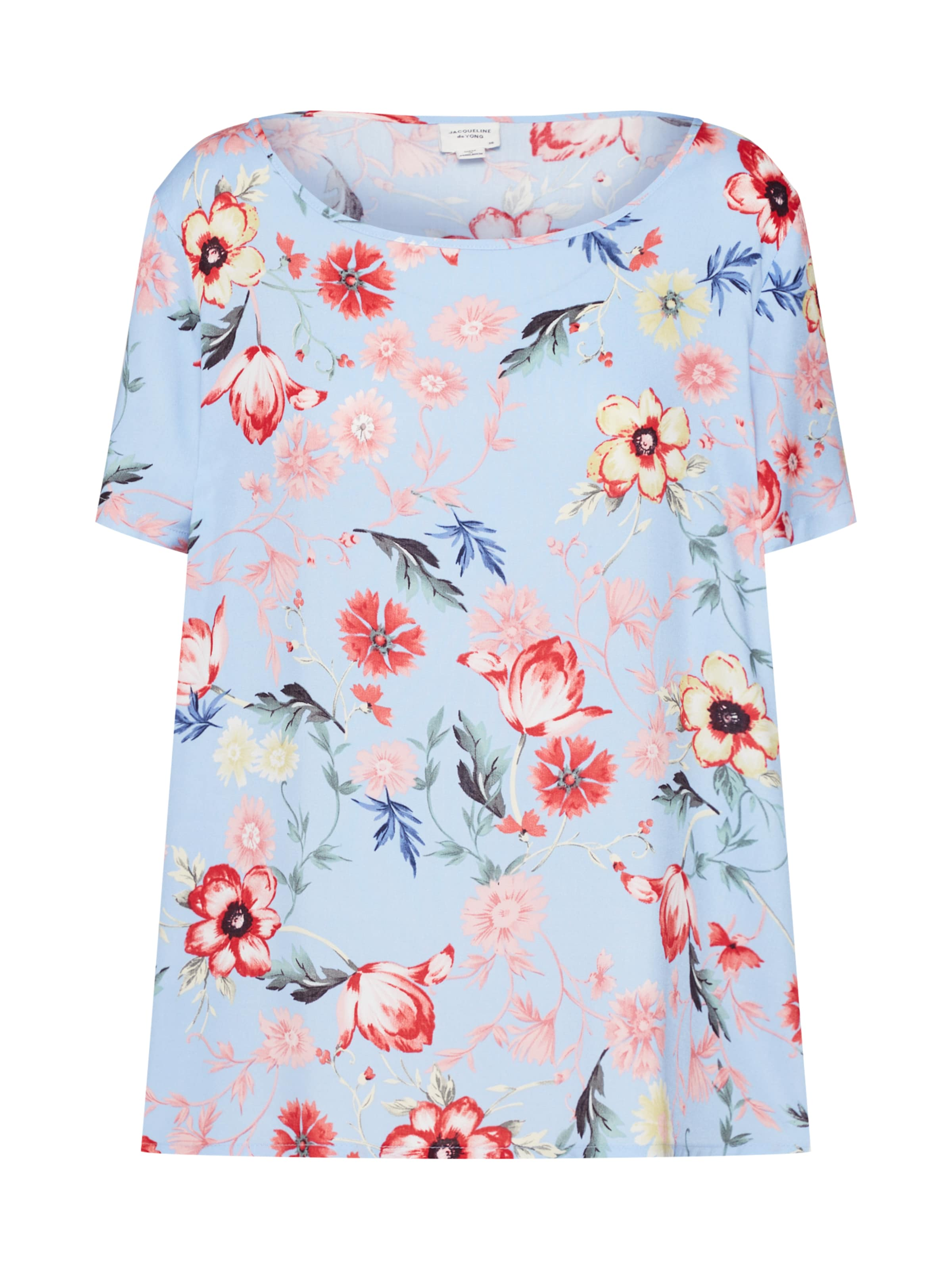 De T Jacqueline En shirt Mélange CouleursBlanc Yong Naturel thrdQsC