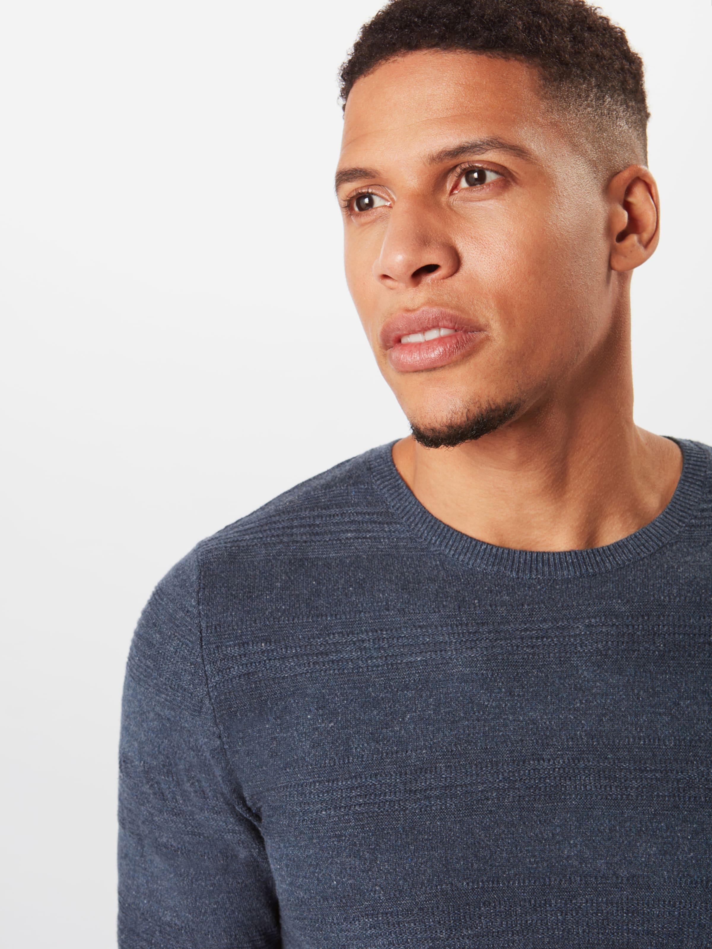 En Tailor Stripe' 'structured Bleu Tom Pull gris over CsQhrxtd