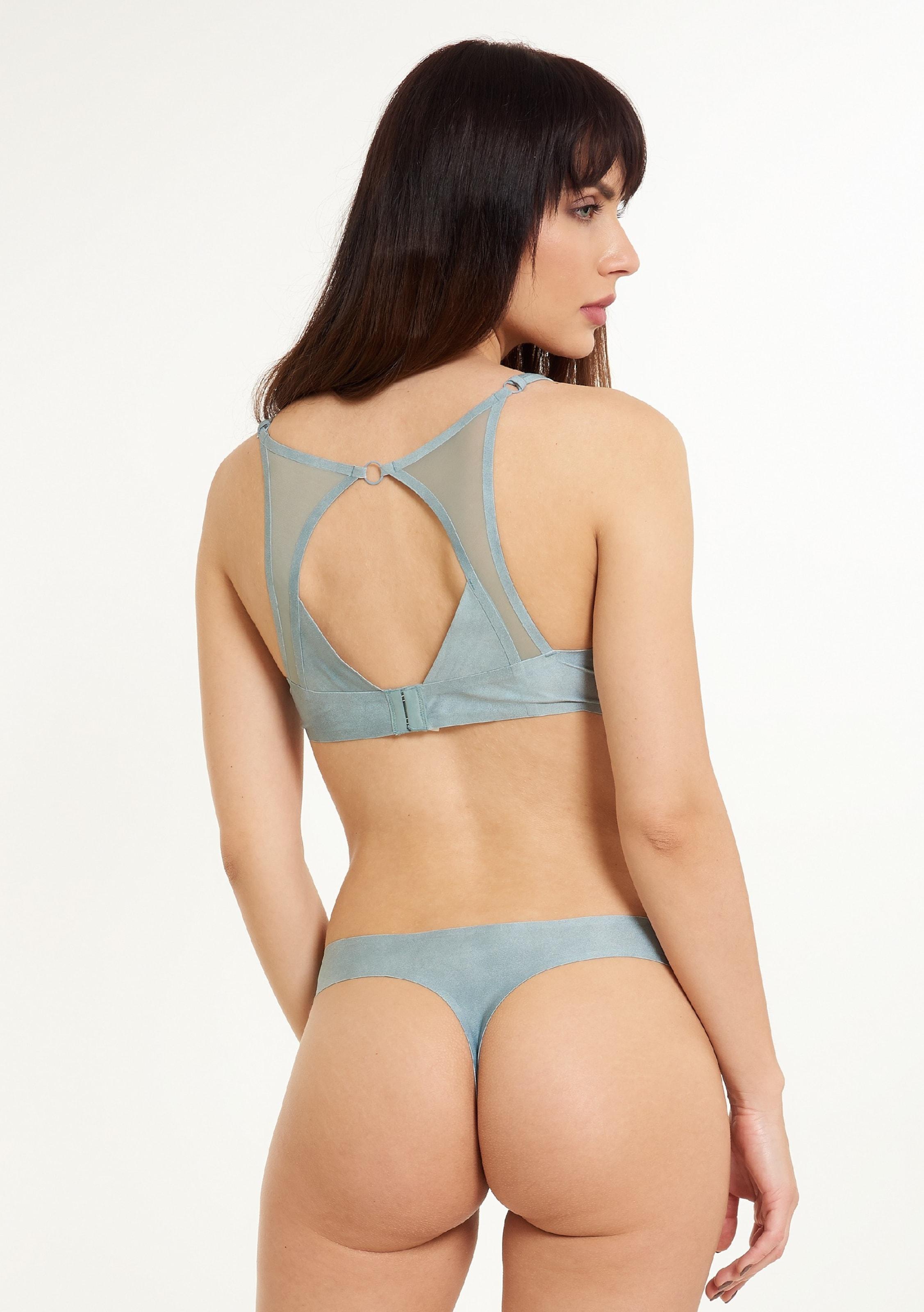 Lingadore Bleu 'lucia' En String Fumé iZOuPXkT