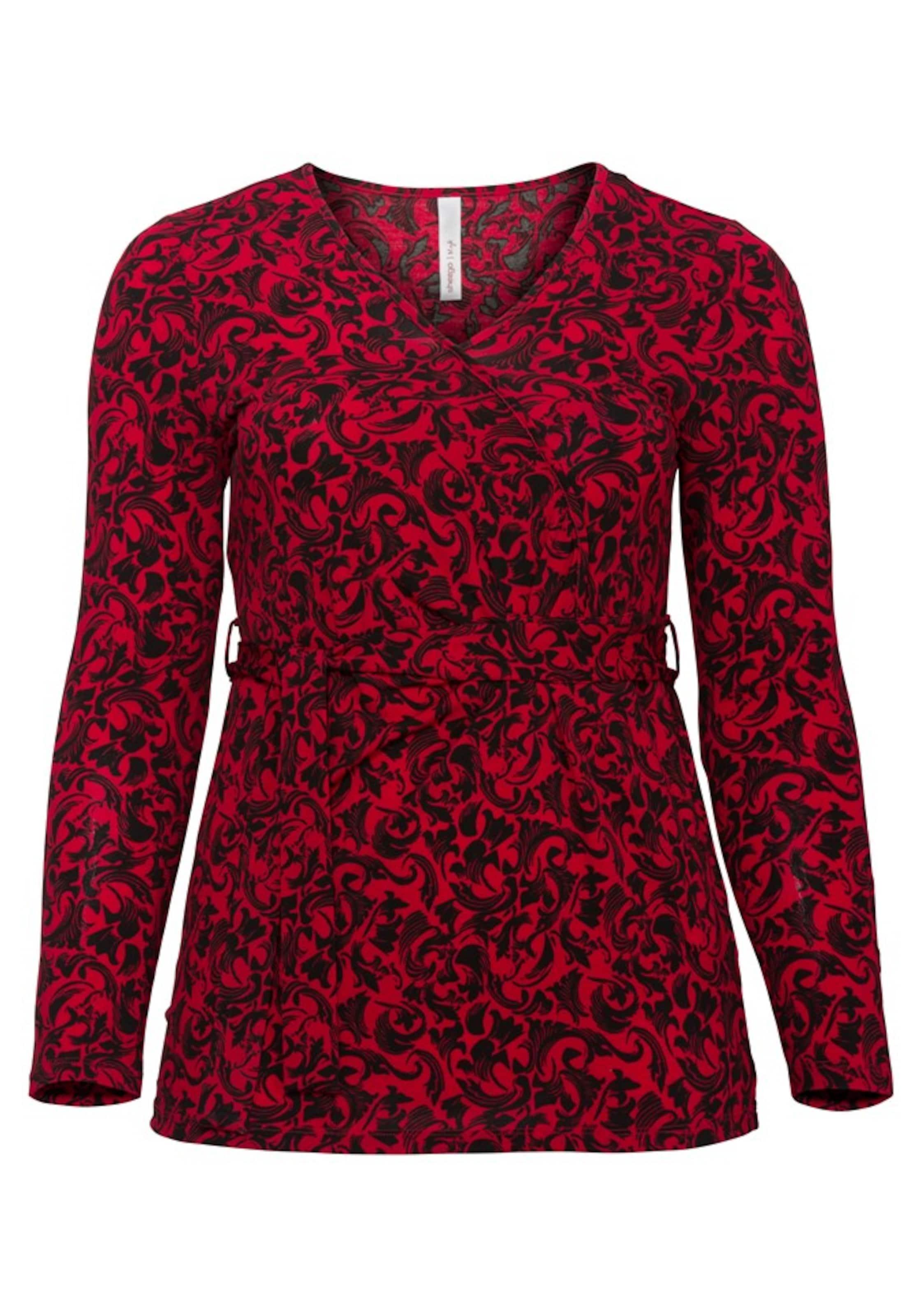 Shirt Style Style In RubinrotSchwarz Sheego Sheego Shirt bfg6Yv7y