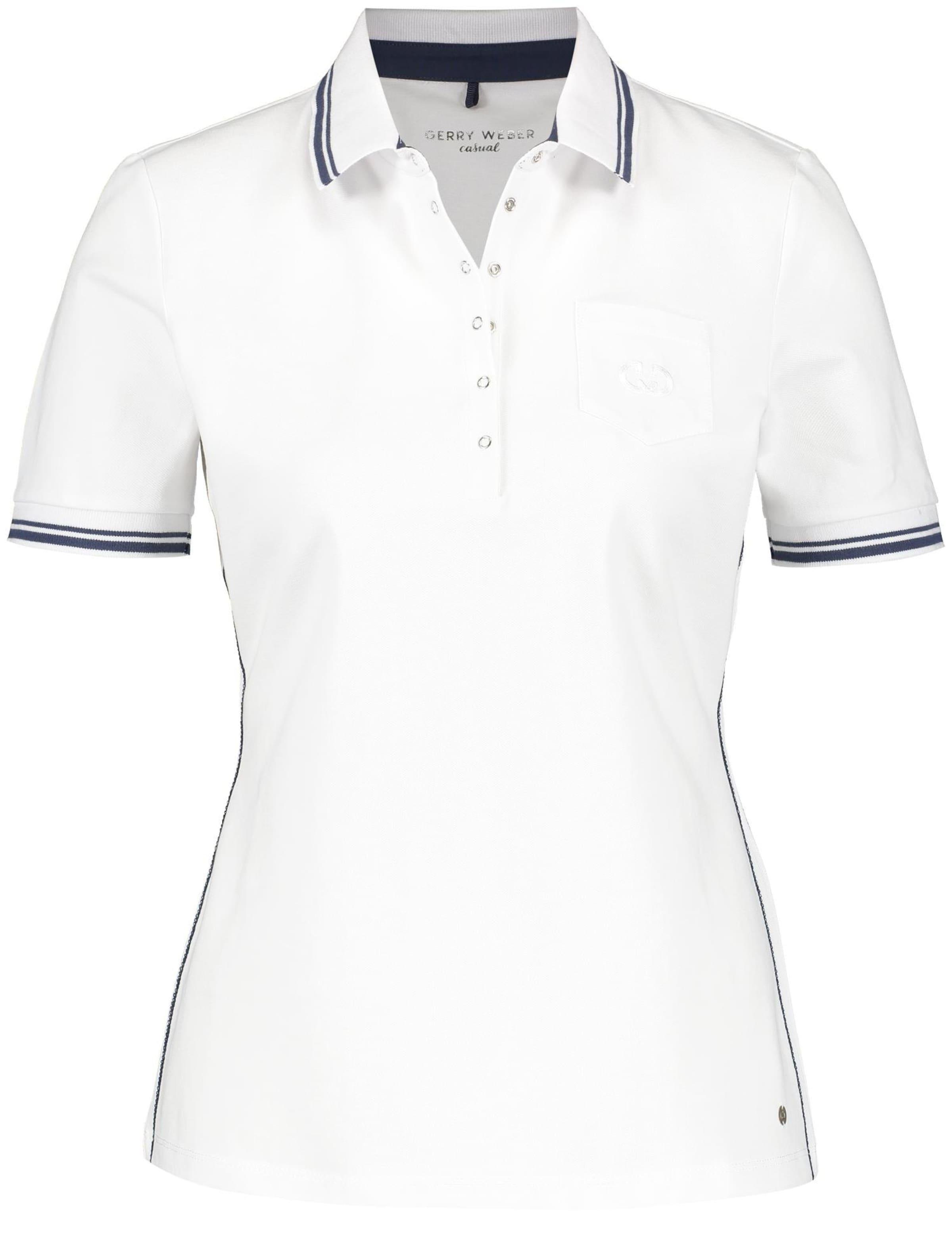 Polo shirt Arm T 2 shirt In Weiß Gerry 1 Weber GSUMpzVq
