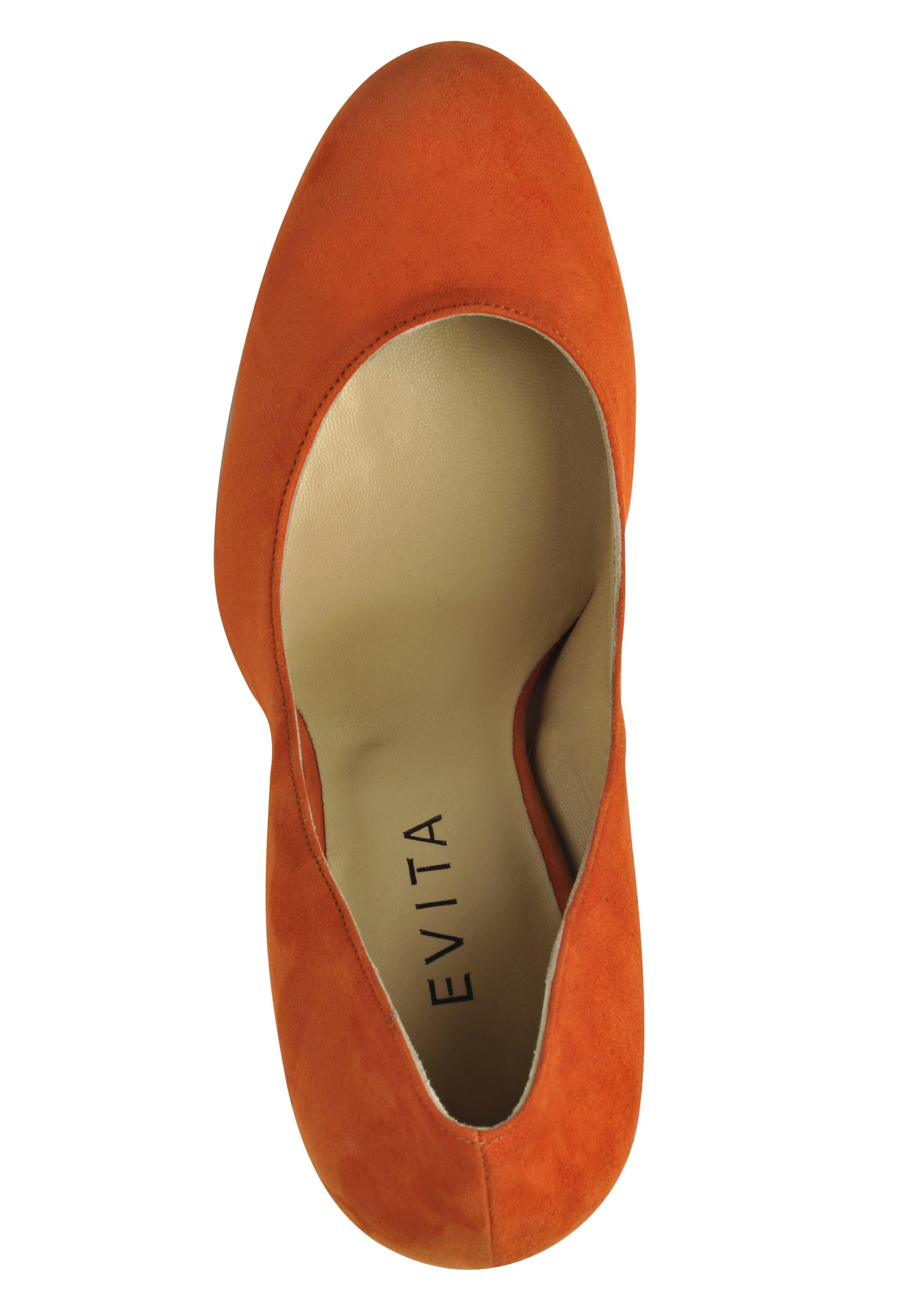 Evita Evita Orange Evita En Escarpins En Orange En Escarpins Escarpins oCerdxB