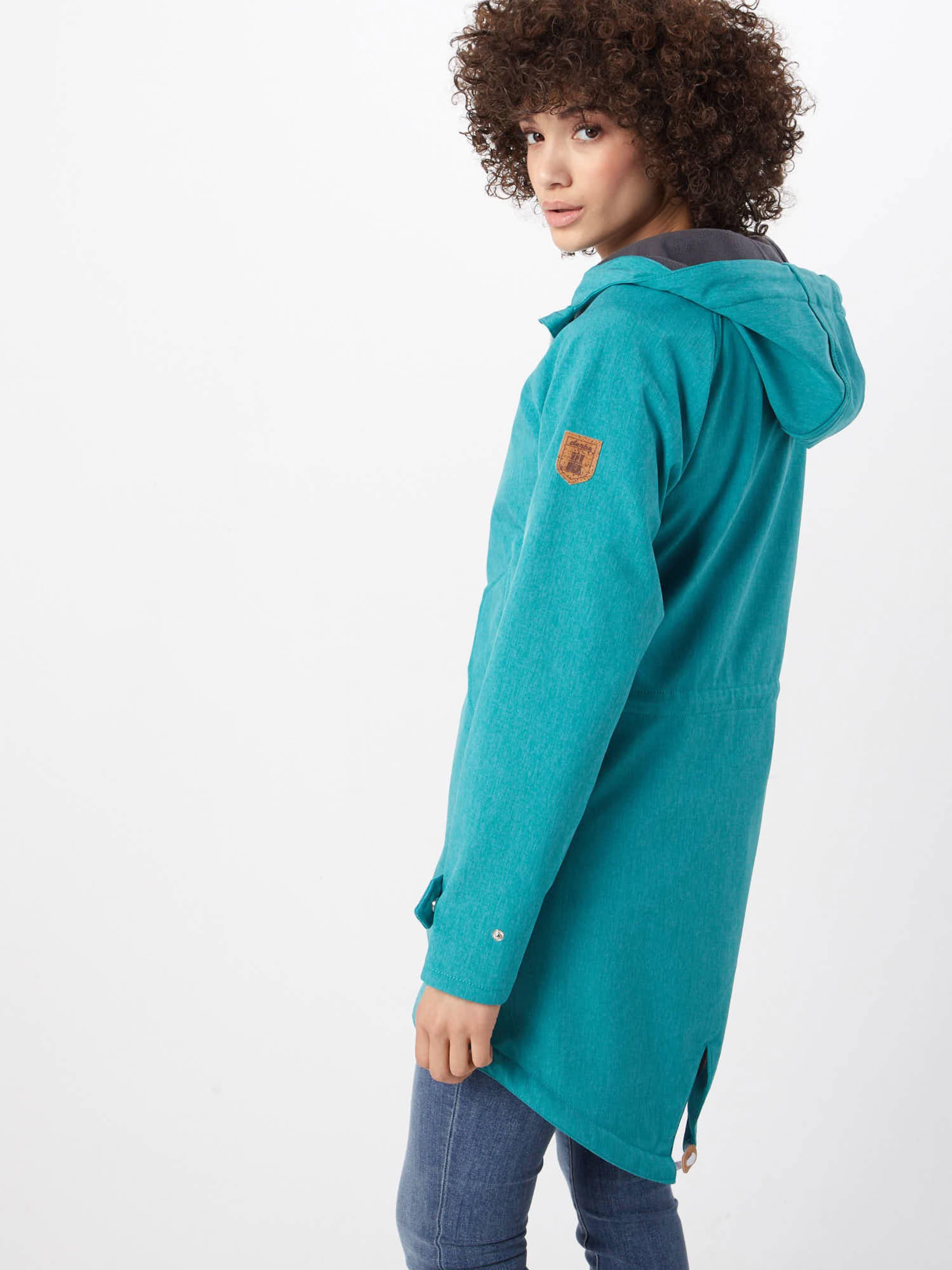 Veste En Turquoise Derbe saison Mi EH9WY2DI