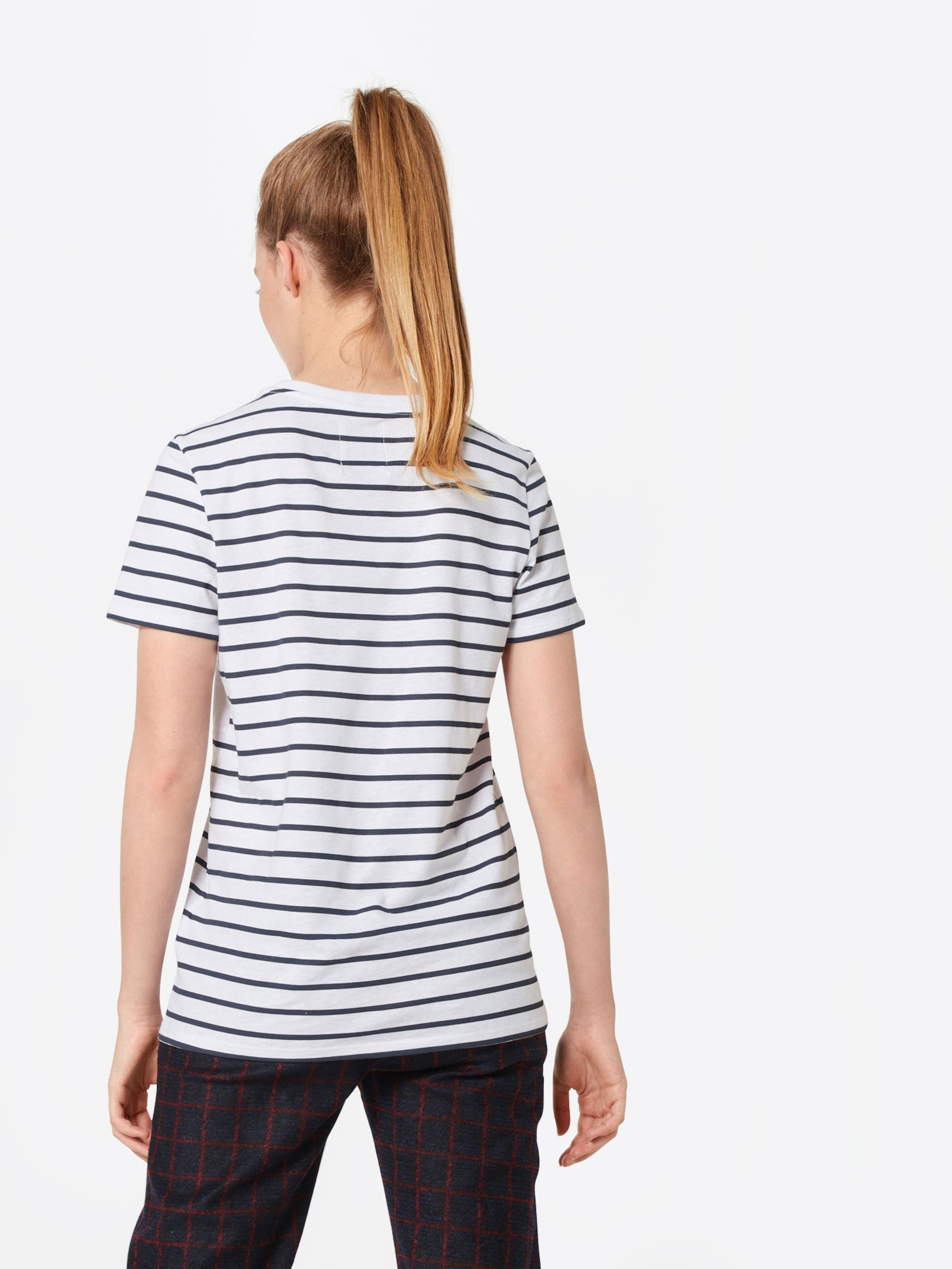 T Zoe In NavyRot Weiß Karssen shirt 1K3lTFJc