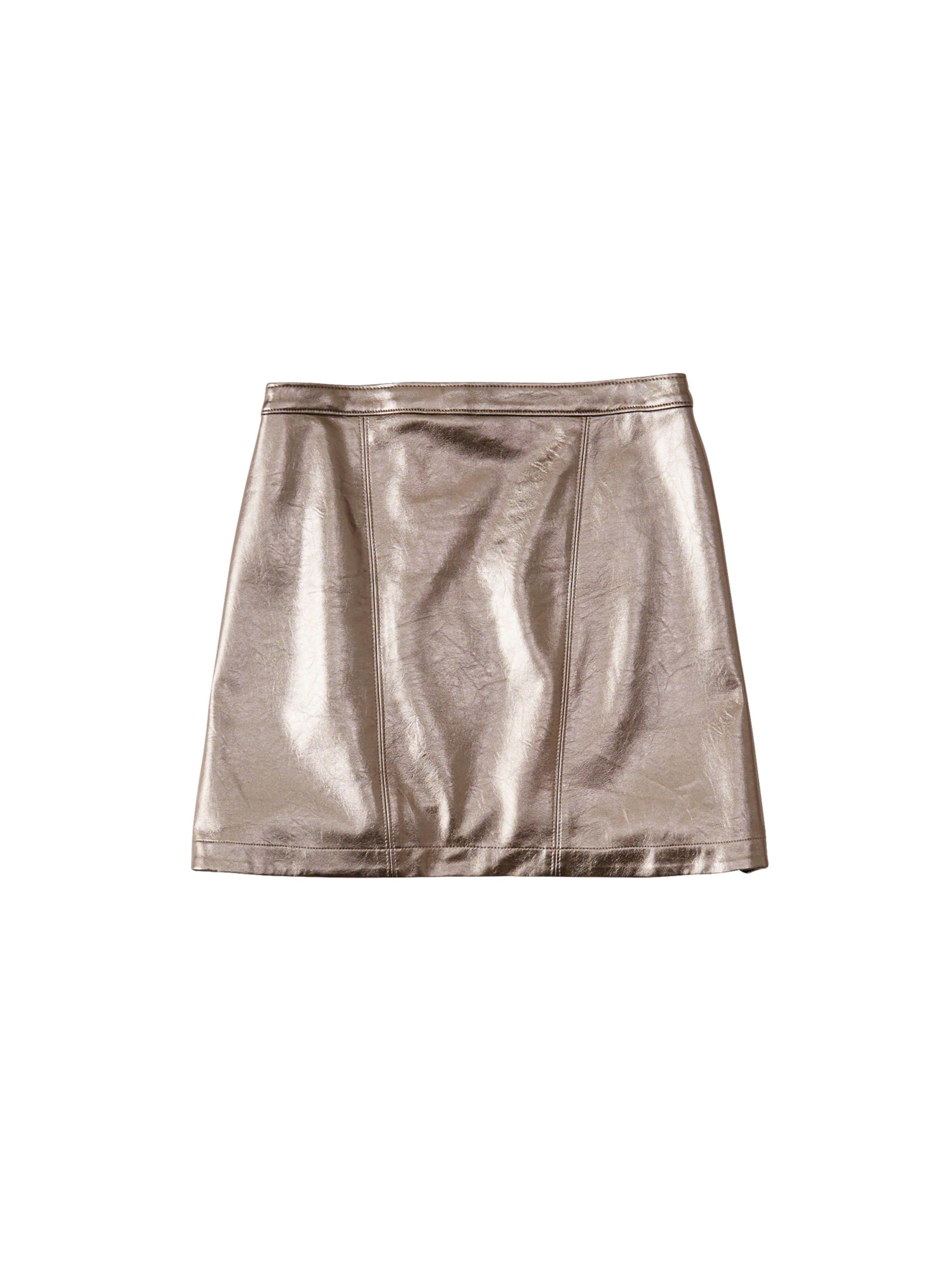 metallic Mini' Jupe En Argent Abercrombieamp; Fitch 'xm18 mNO8n0vw