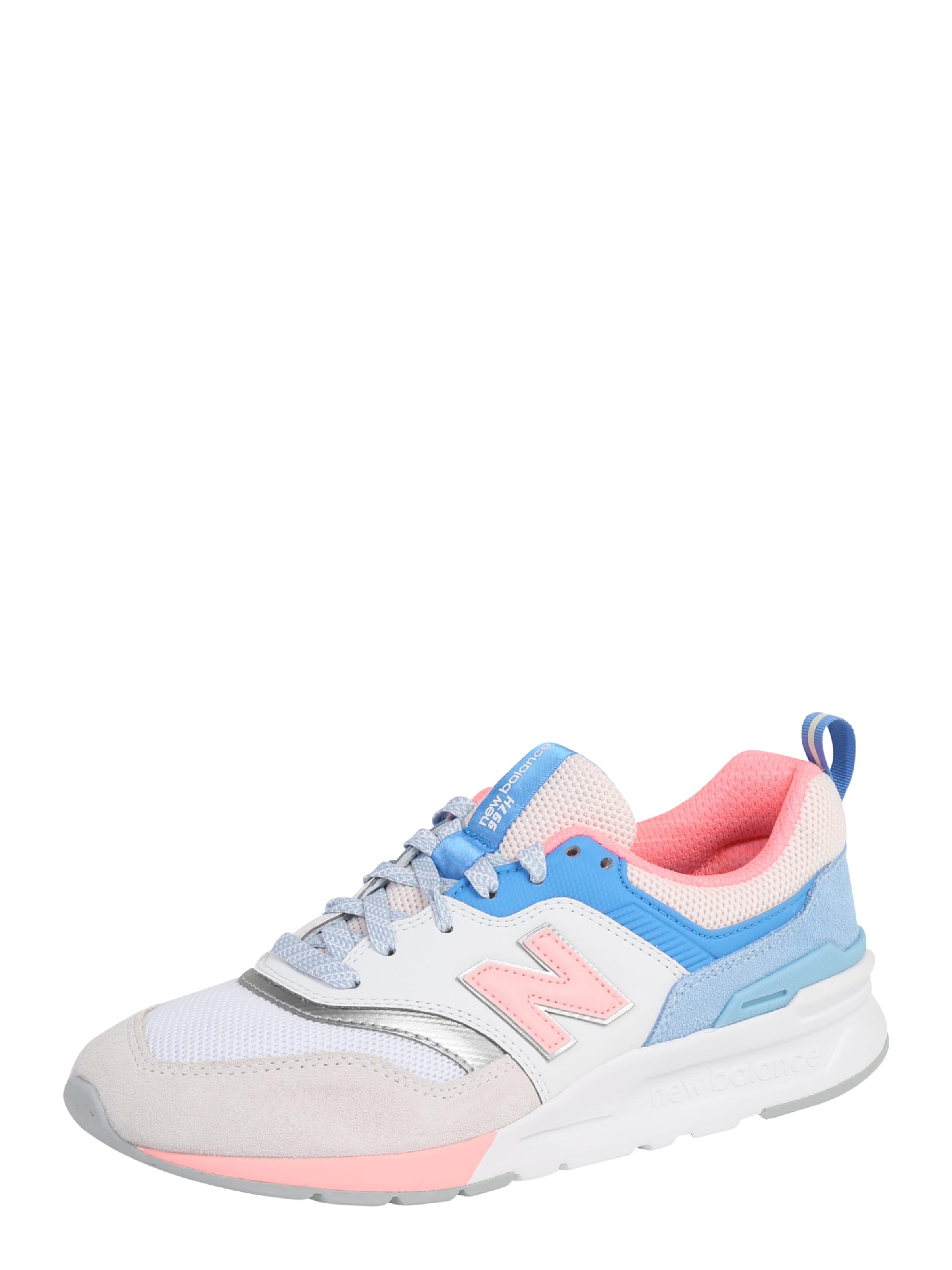 Balance New 'cw En Bleu ClairRose Blanc Basses 997' Baskets kuOZXPi
