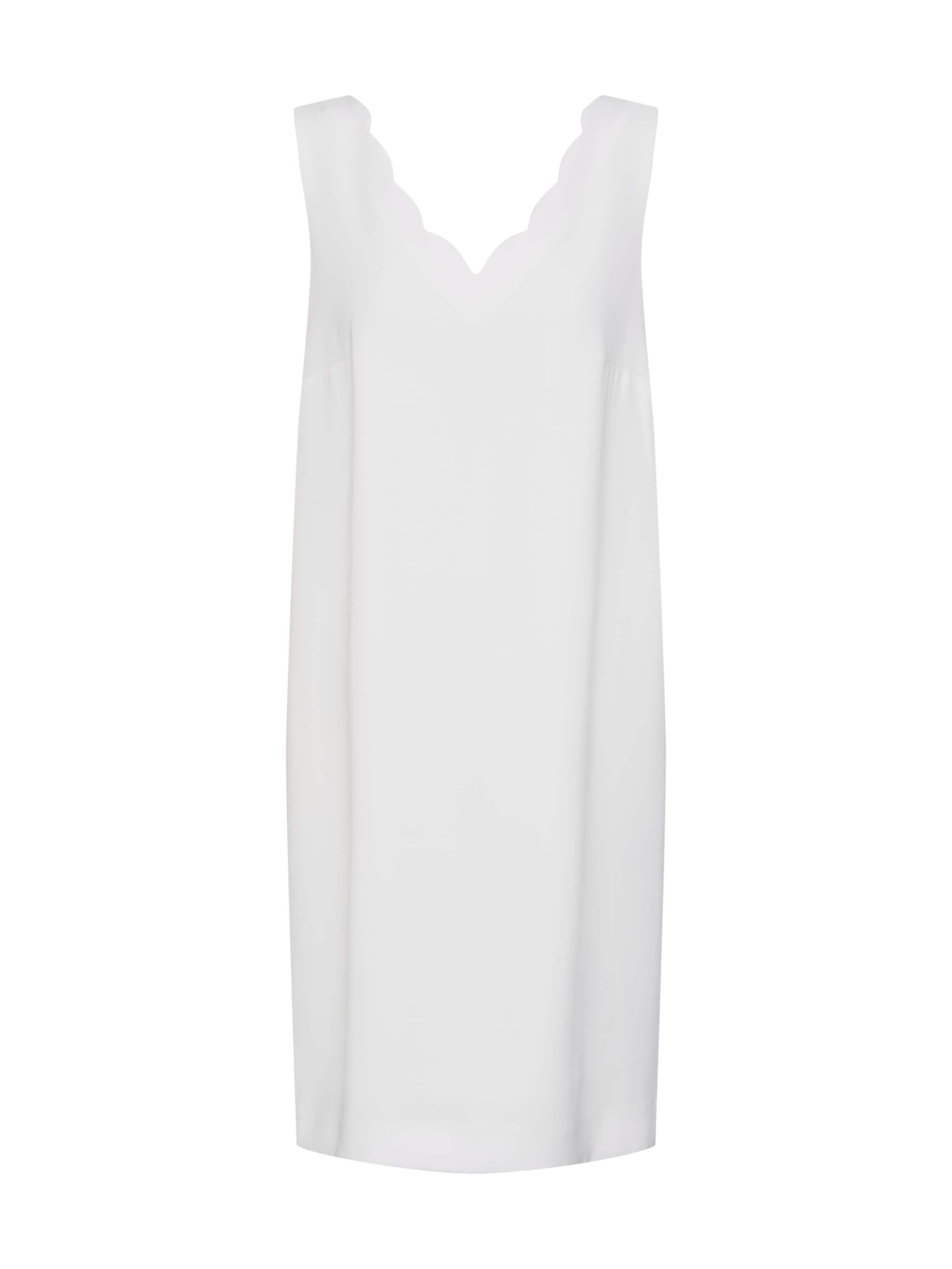 Comma Comma Robe En Robe Blanc LqSGVUzMp