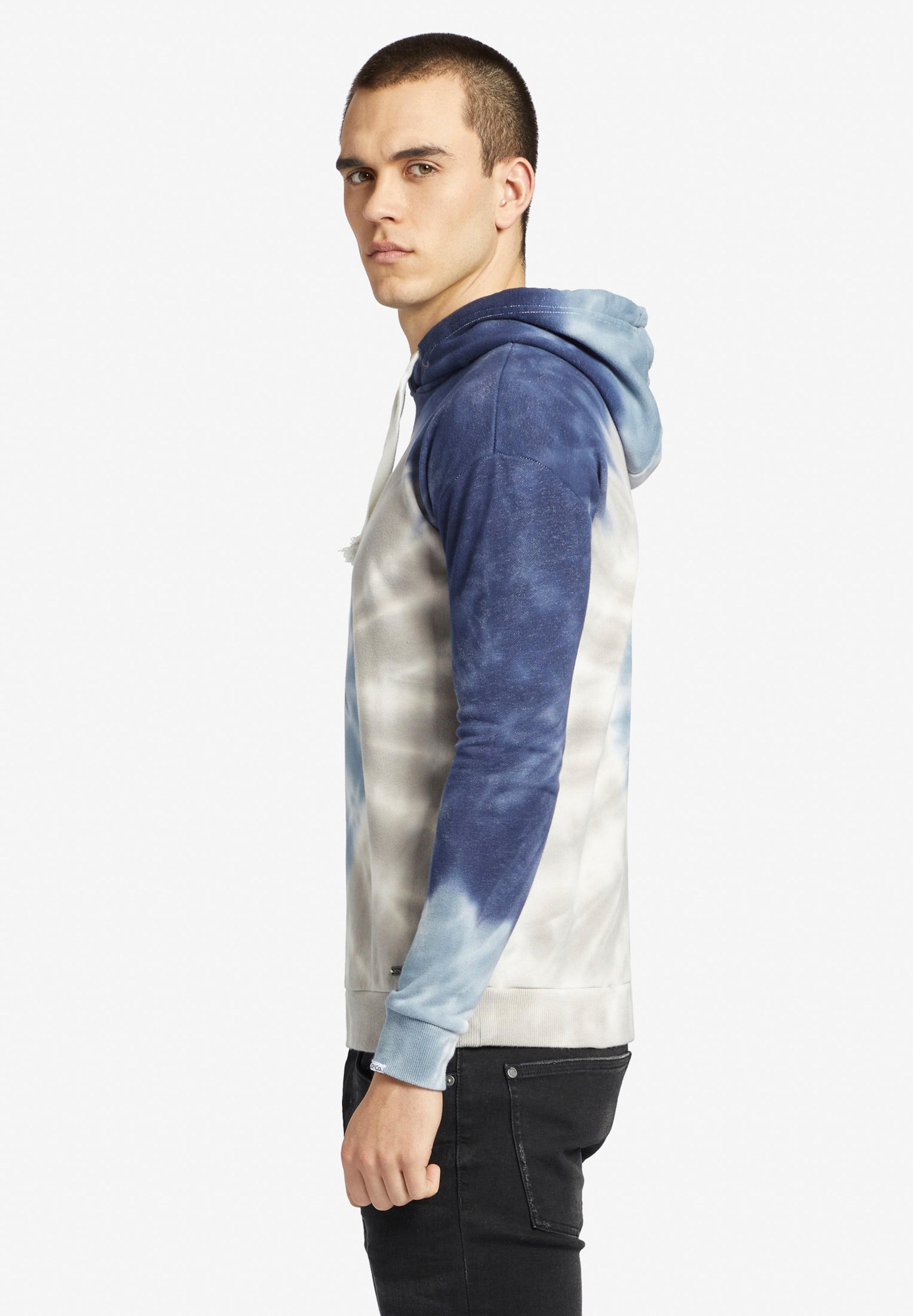 Perle FuméRoi Sweat Segal Blanc En Khujo shirt ' Bleu gbf76y