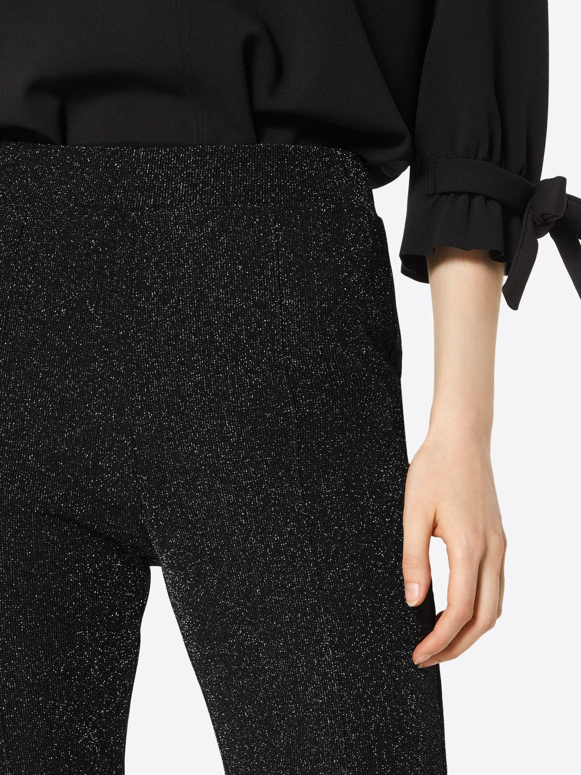 En Pieces Pieces Chiné Pantalon Pieces Noir Noir Chiné Pantalon En EIWDH29