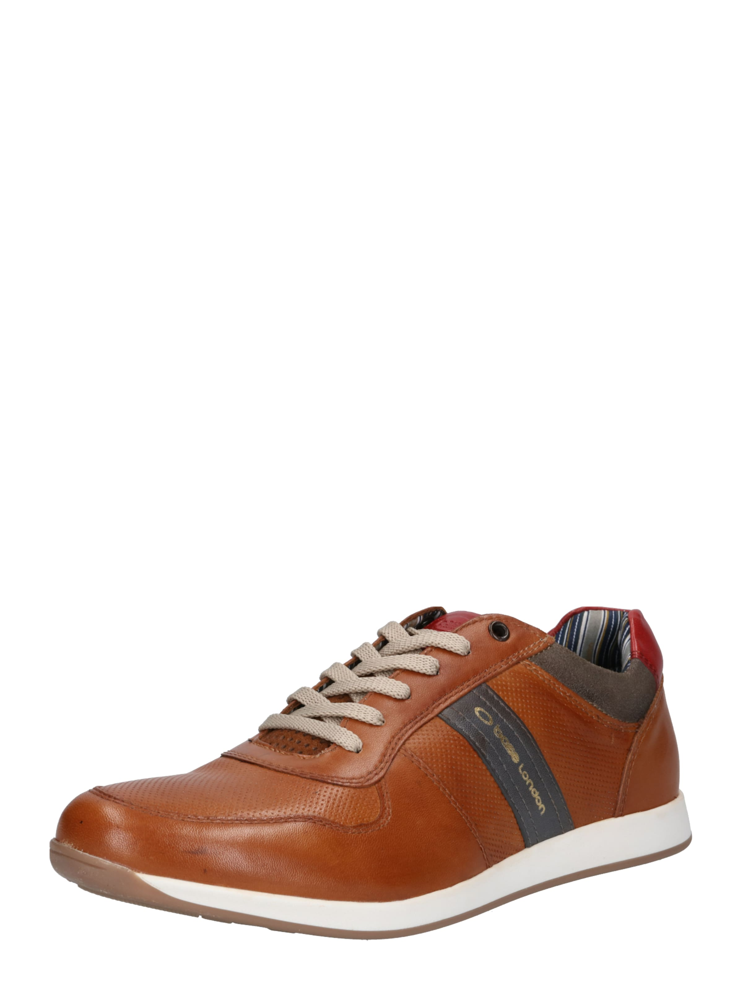 Baskets Basses 'eclipse' Cognac En Base London BWCorxeEQd