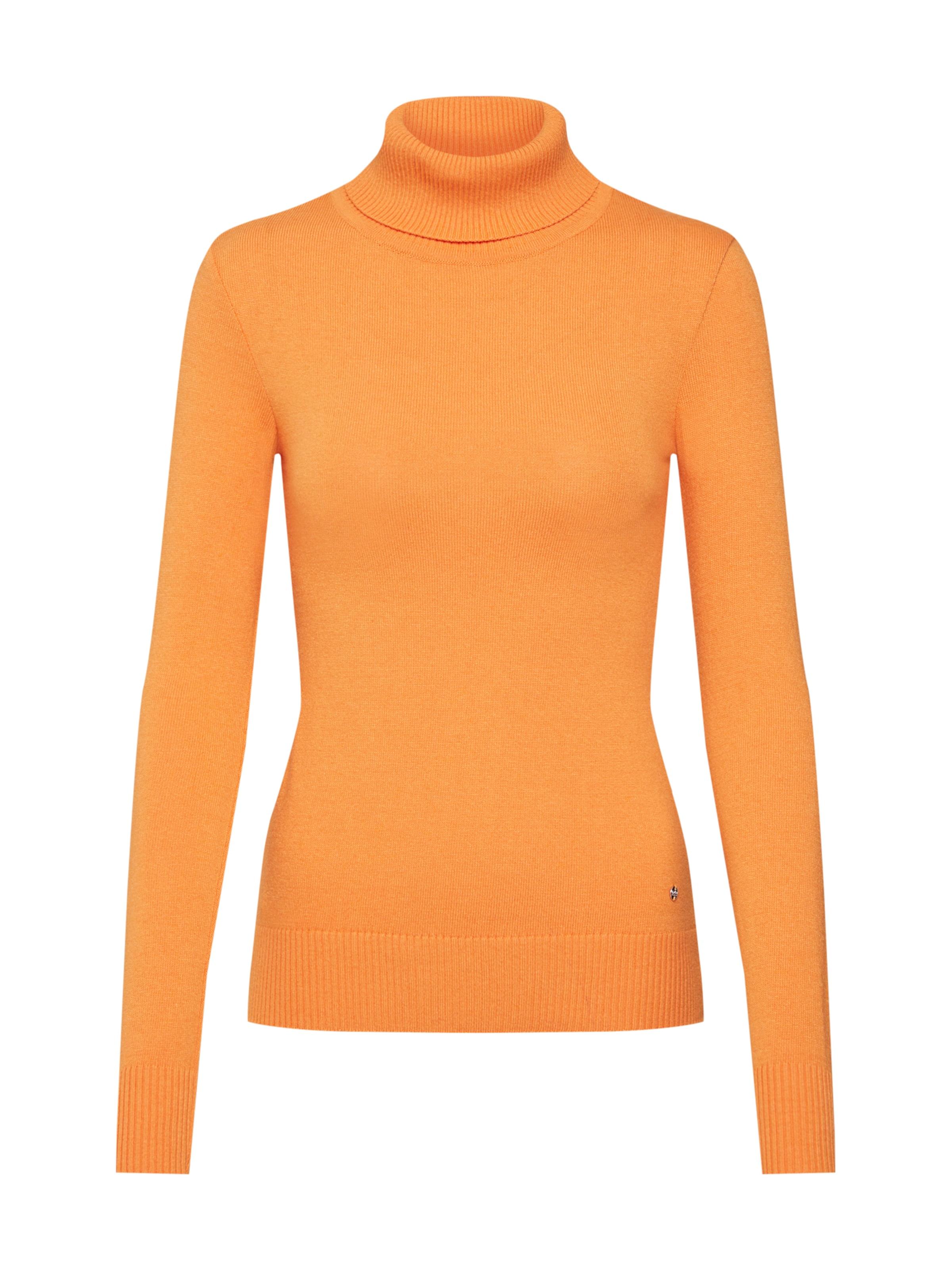 In Orange Rollkragen pullover Lena 'elin' Gercke By Leger uXiOkZP