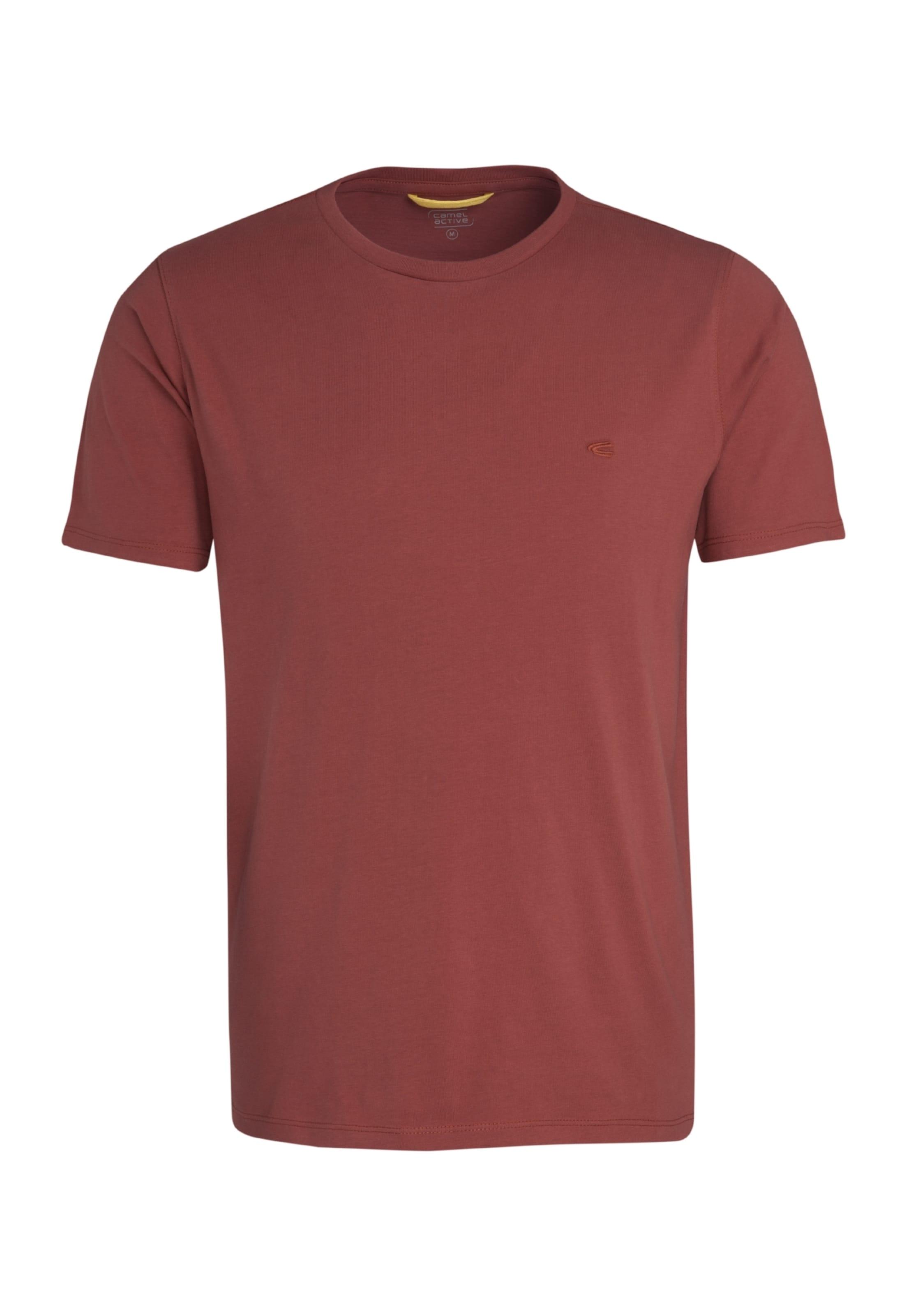 En shirt Active Aubergine T Camel EDHI92