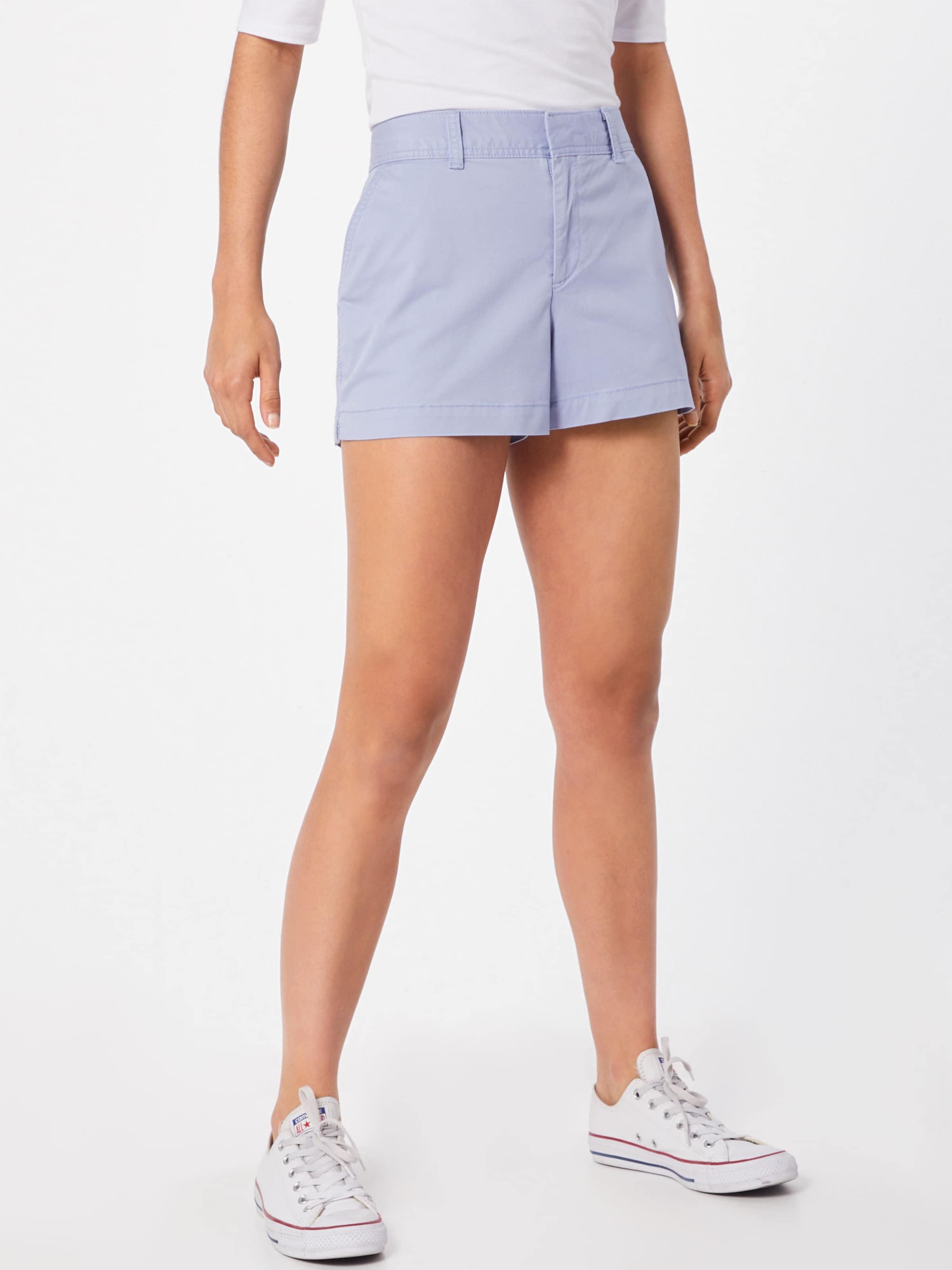 Bleu En Embroidery' Y76gfyb Pantalon Short Gap 'city lcJK1F