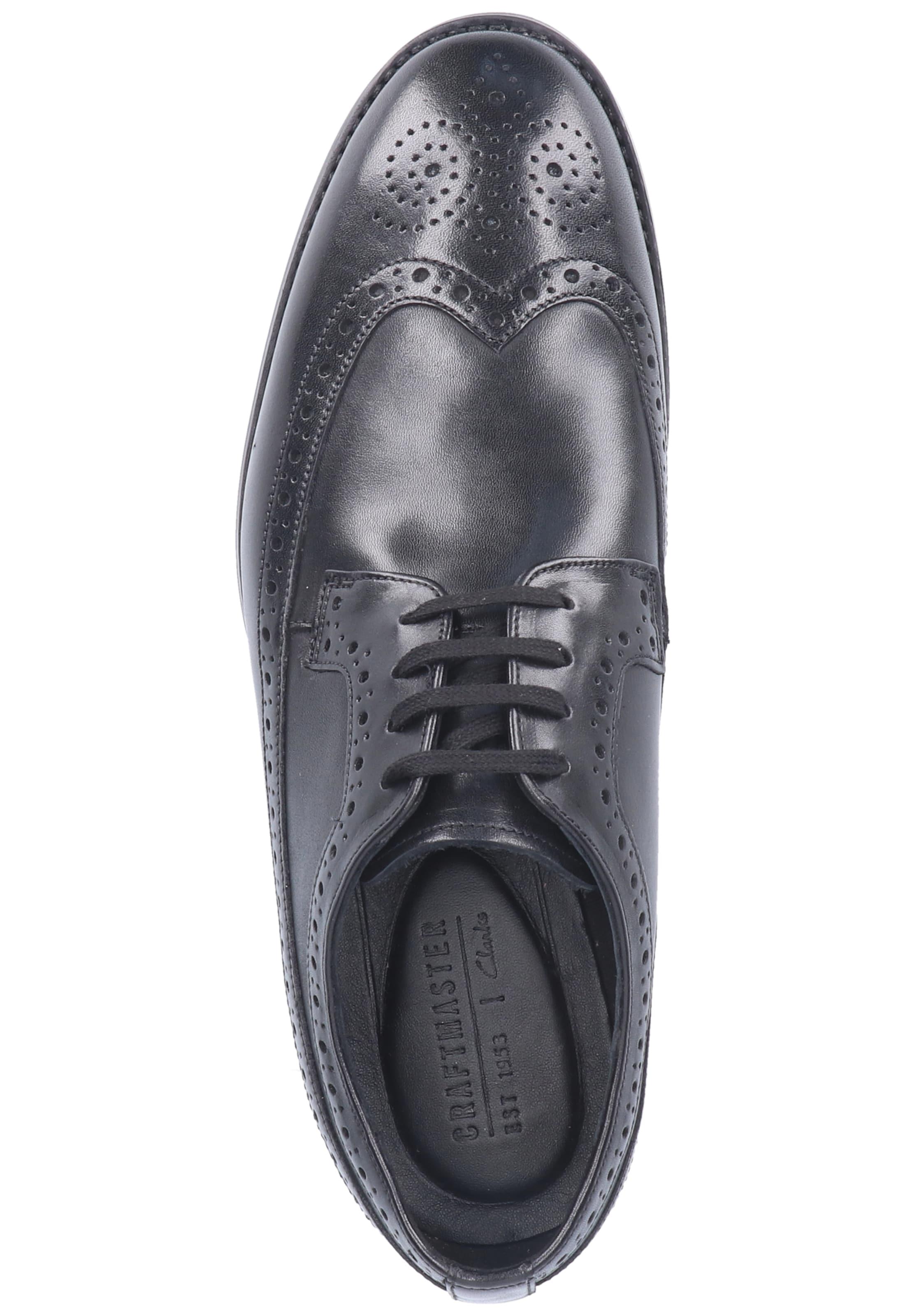 Noir Chaussure À Lacets En Clarks SLGUzMVqp