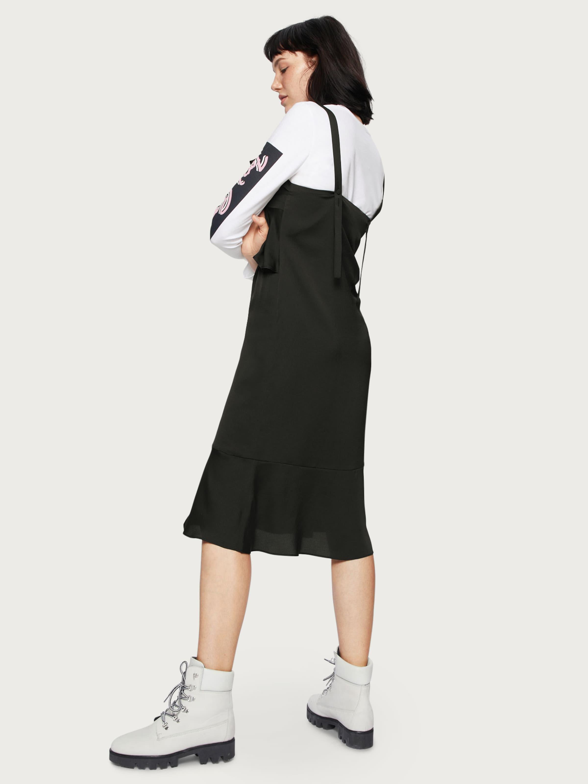 'leia' En D'été Edited Robe Noir HID29EYW