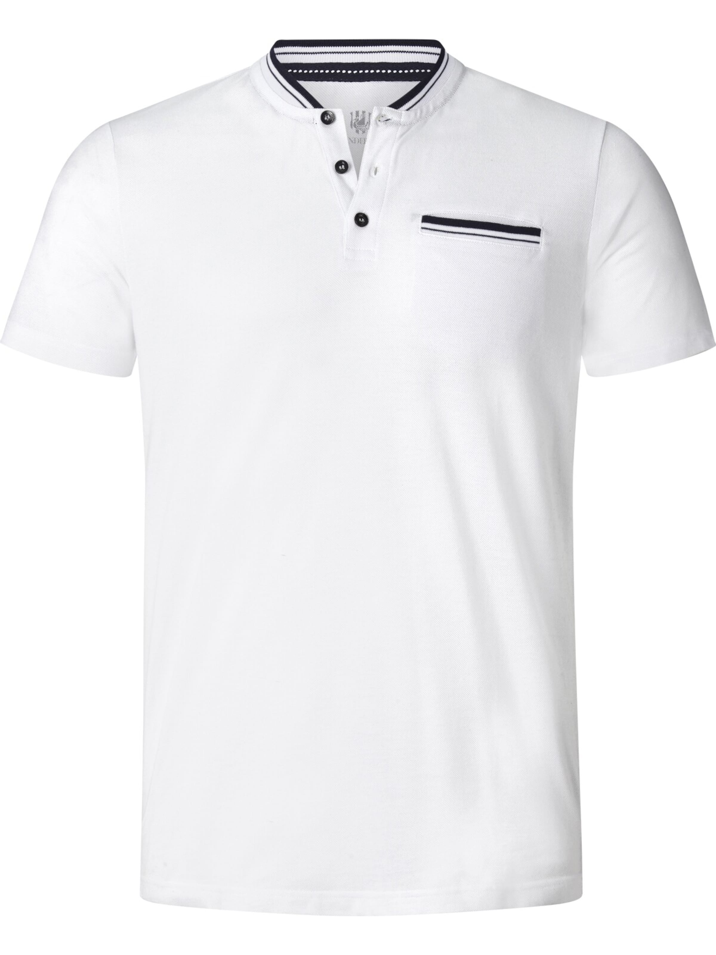 shirt Weiß T Jan Tieki Vanderstorm ' In vm0wnNy8O