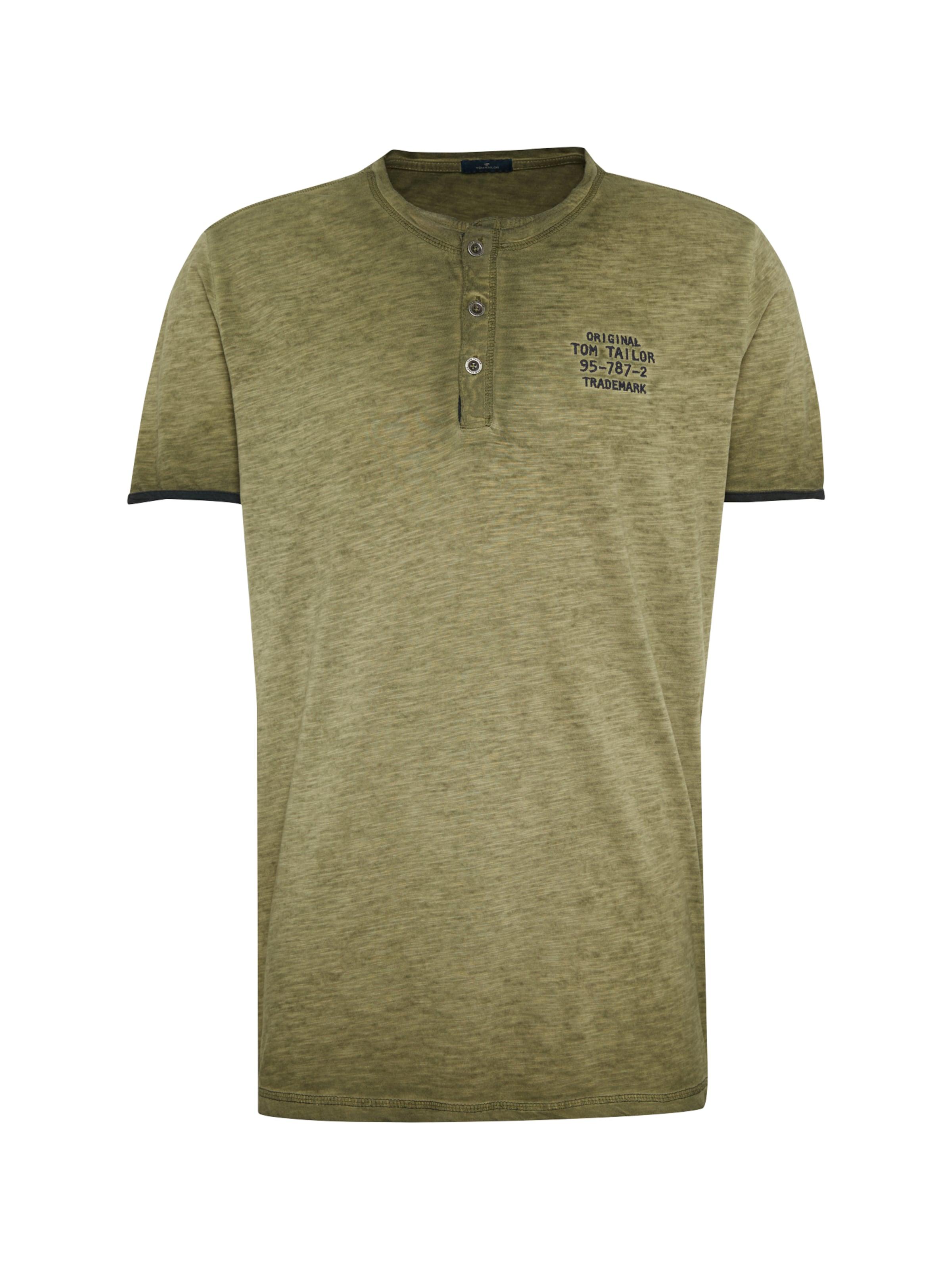 shirt Inside Tailor 'tee Olive Treatement' With Tom T En OiPXkZu