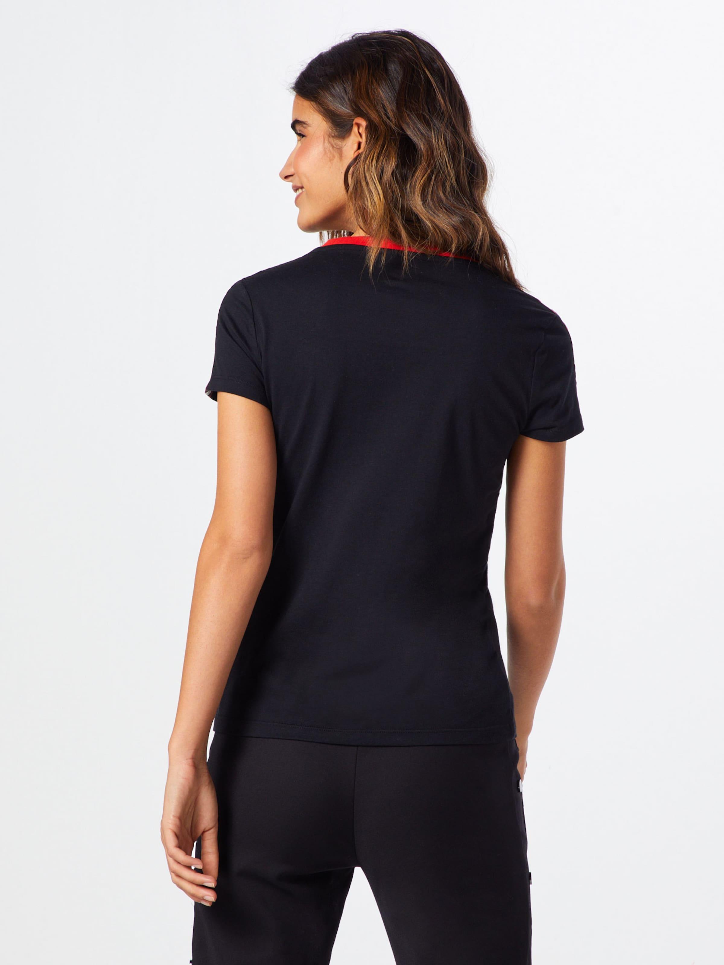shirt X En Black' Hello Tee Ringer Converse s S T 'converse Kitty RougeNoir PikXZu