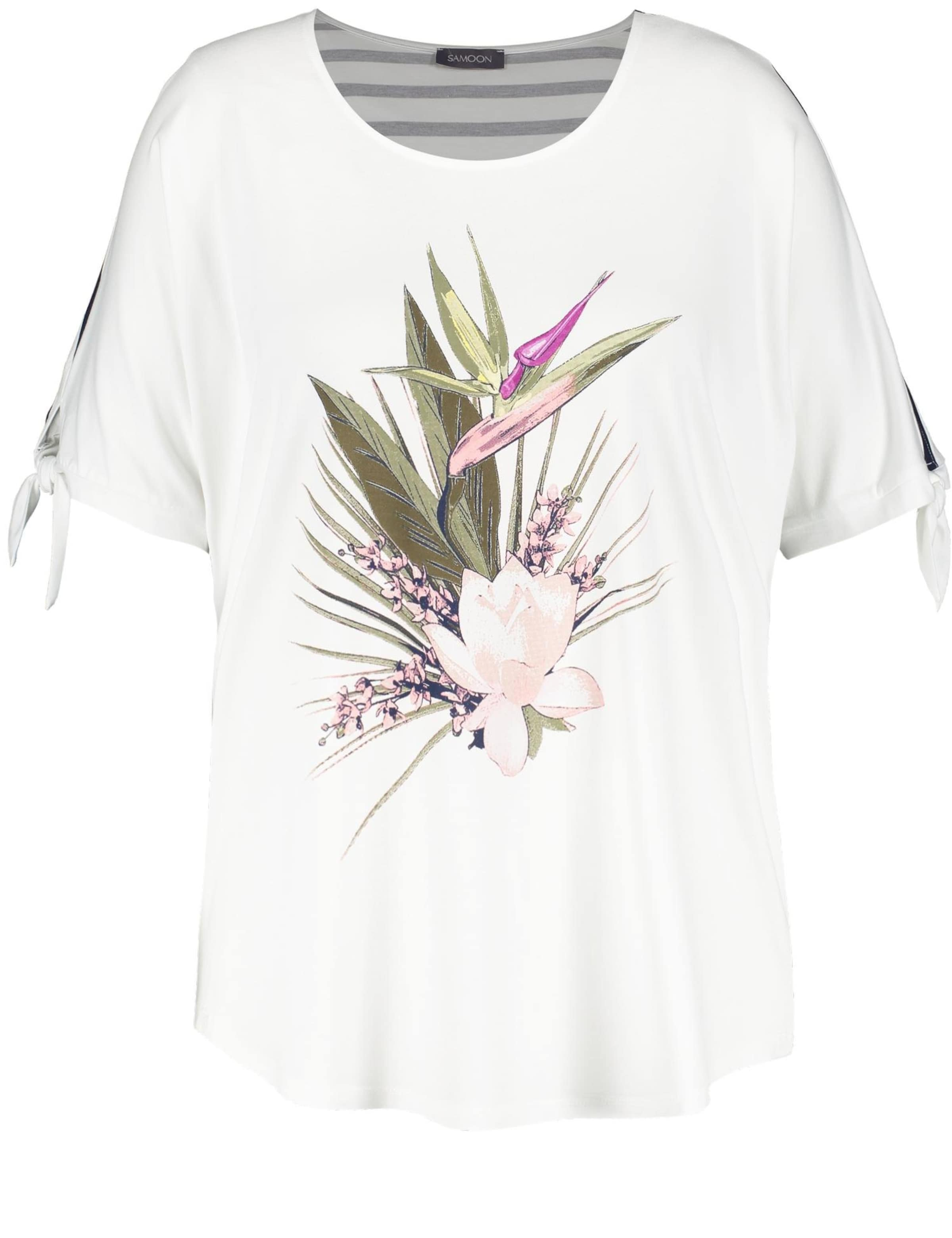 T Samoon shirt Samoon In shirt In T MischfarbenOffwhite l1FKc3TJ