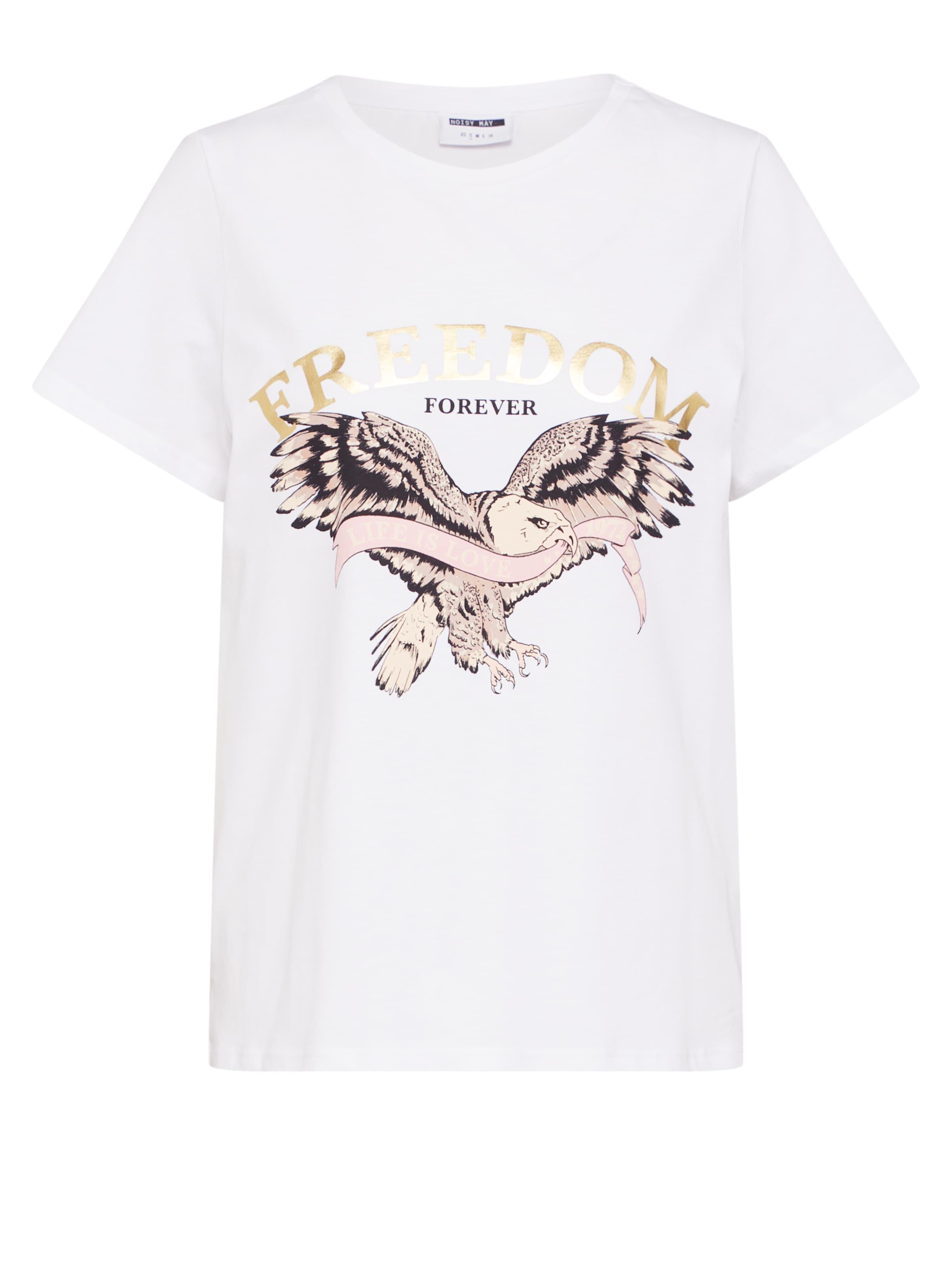 En OrBlanc shirt T May Noisy 9WYEDH2I