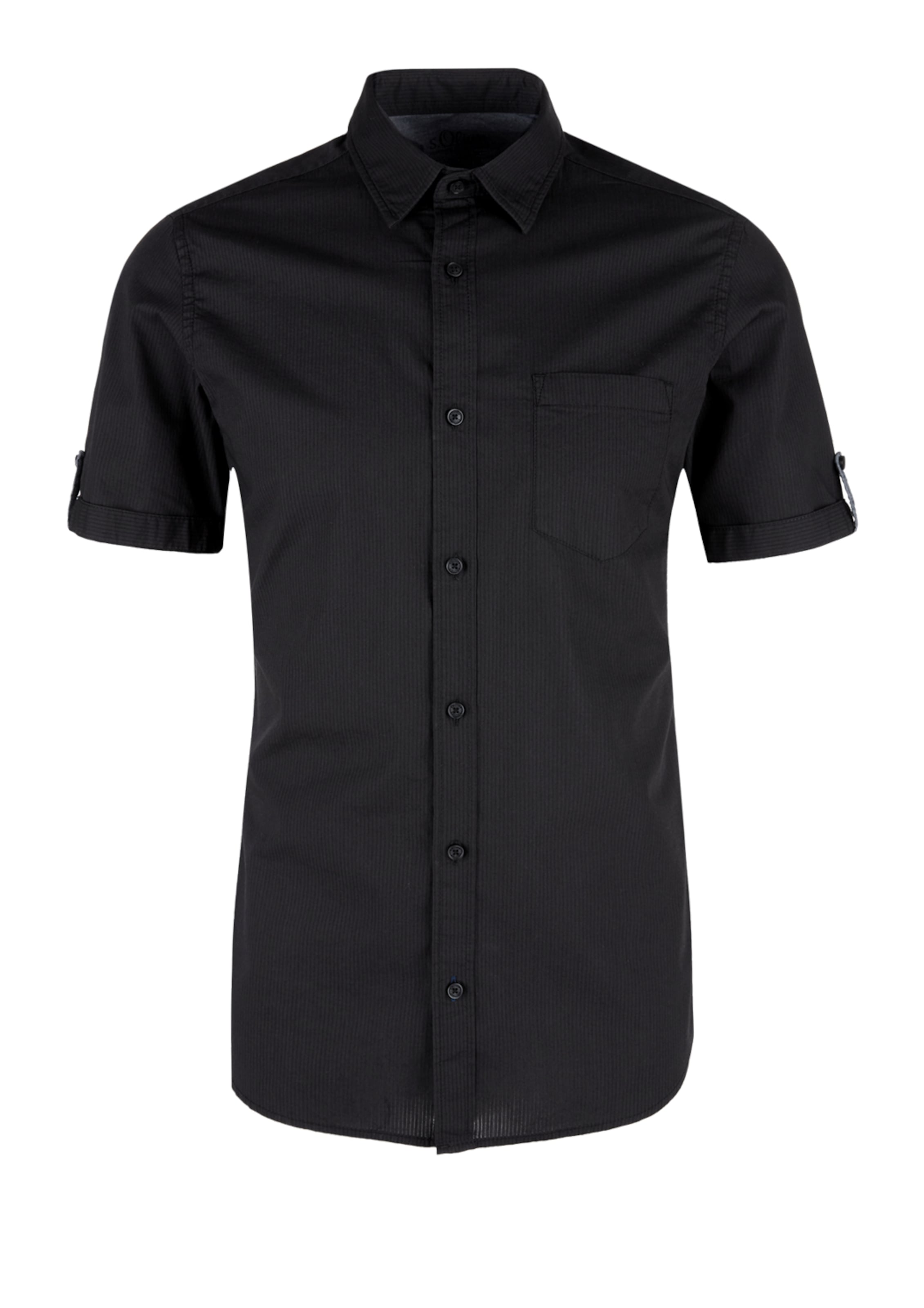 Schwarz Hemd In Red S oliver Label odrxBeC