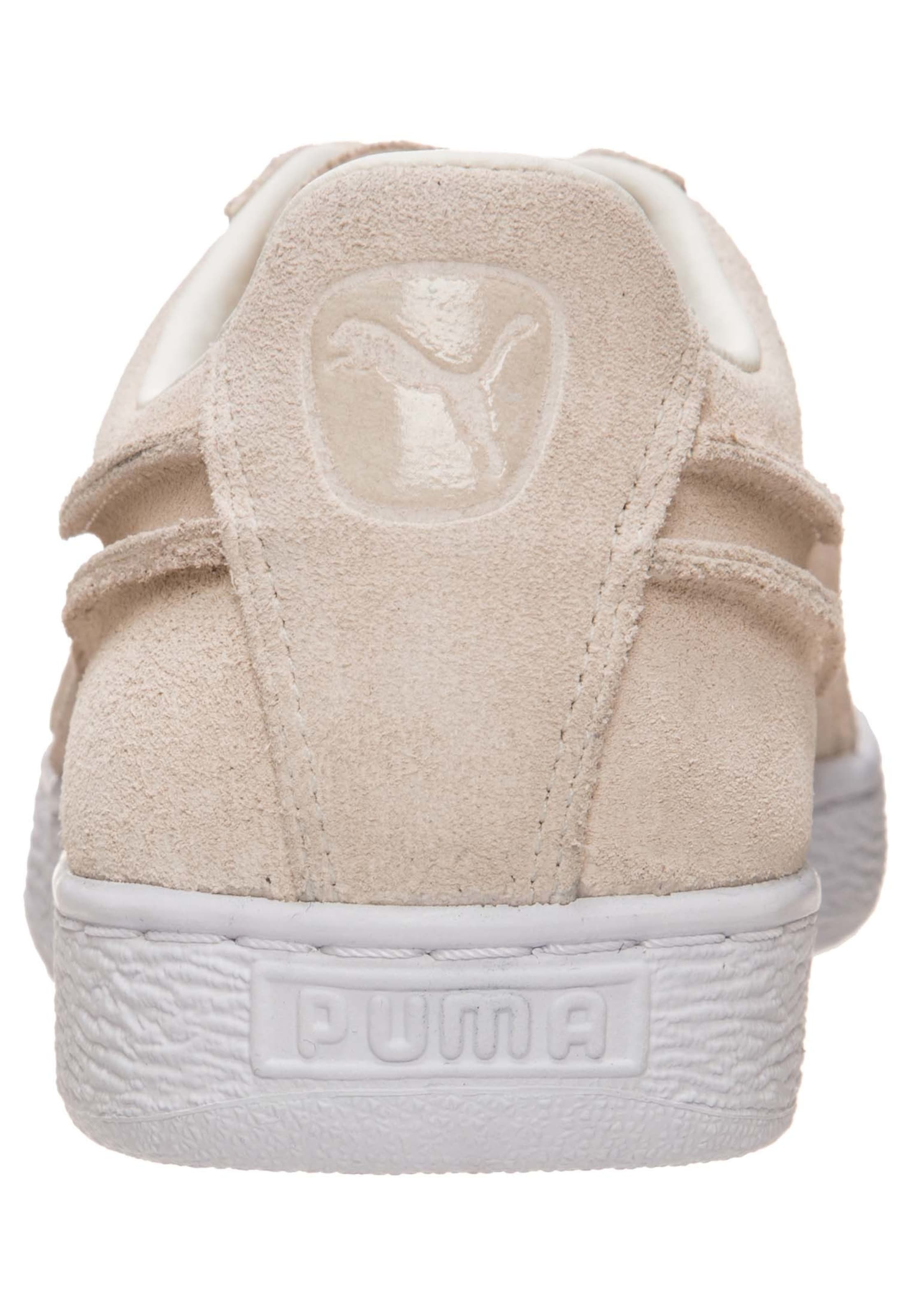 Seams' Basses 'suede Baskets Beige En Exposed Puma Classic 3j5A4LqR