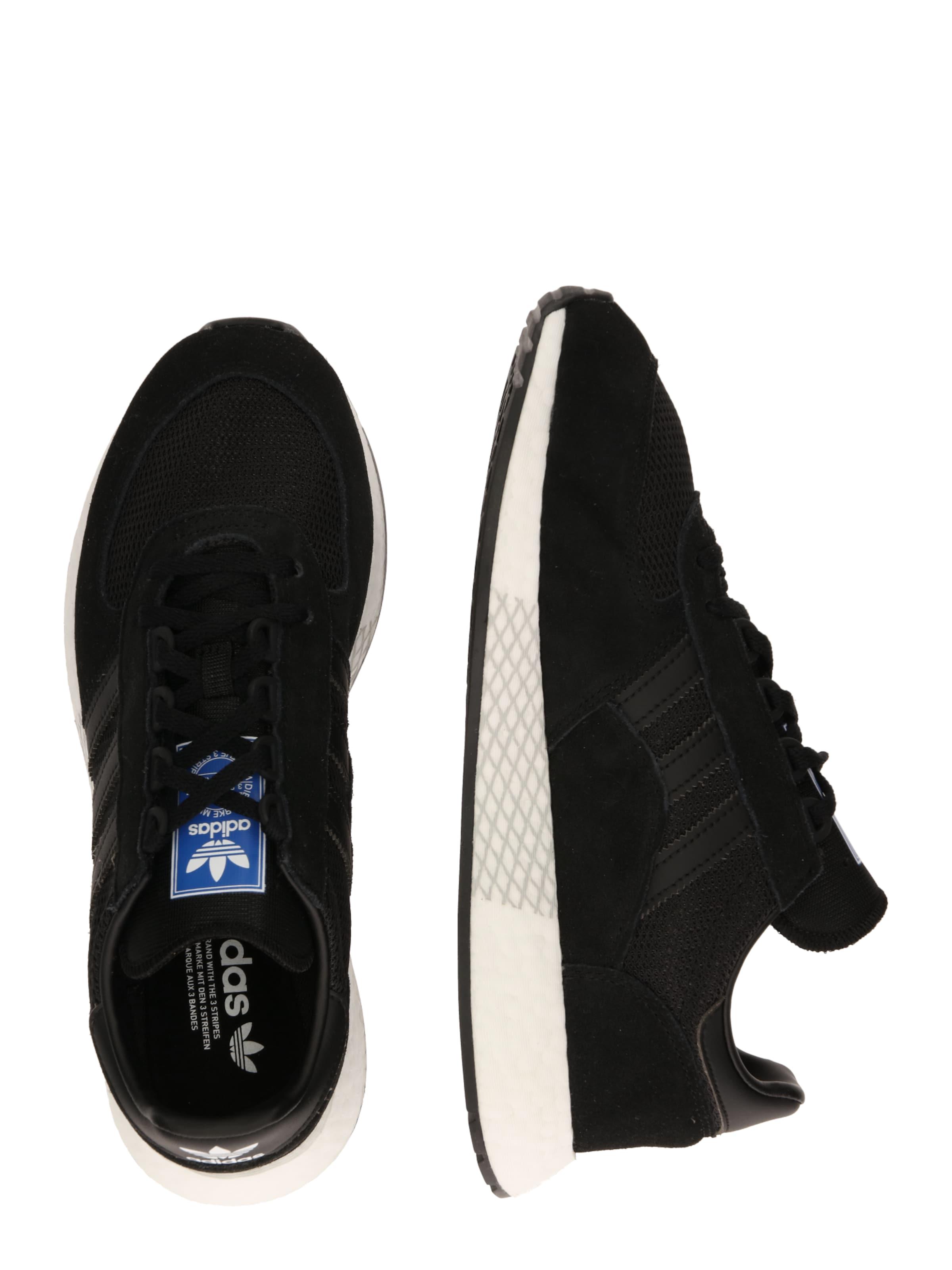 Adidas En Baskets 'marathon Originals Basses Noir Tech' OnkXwP80
