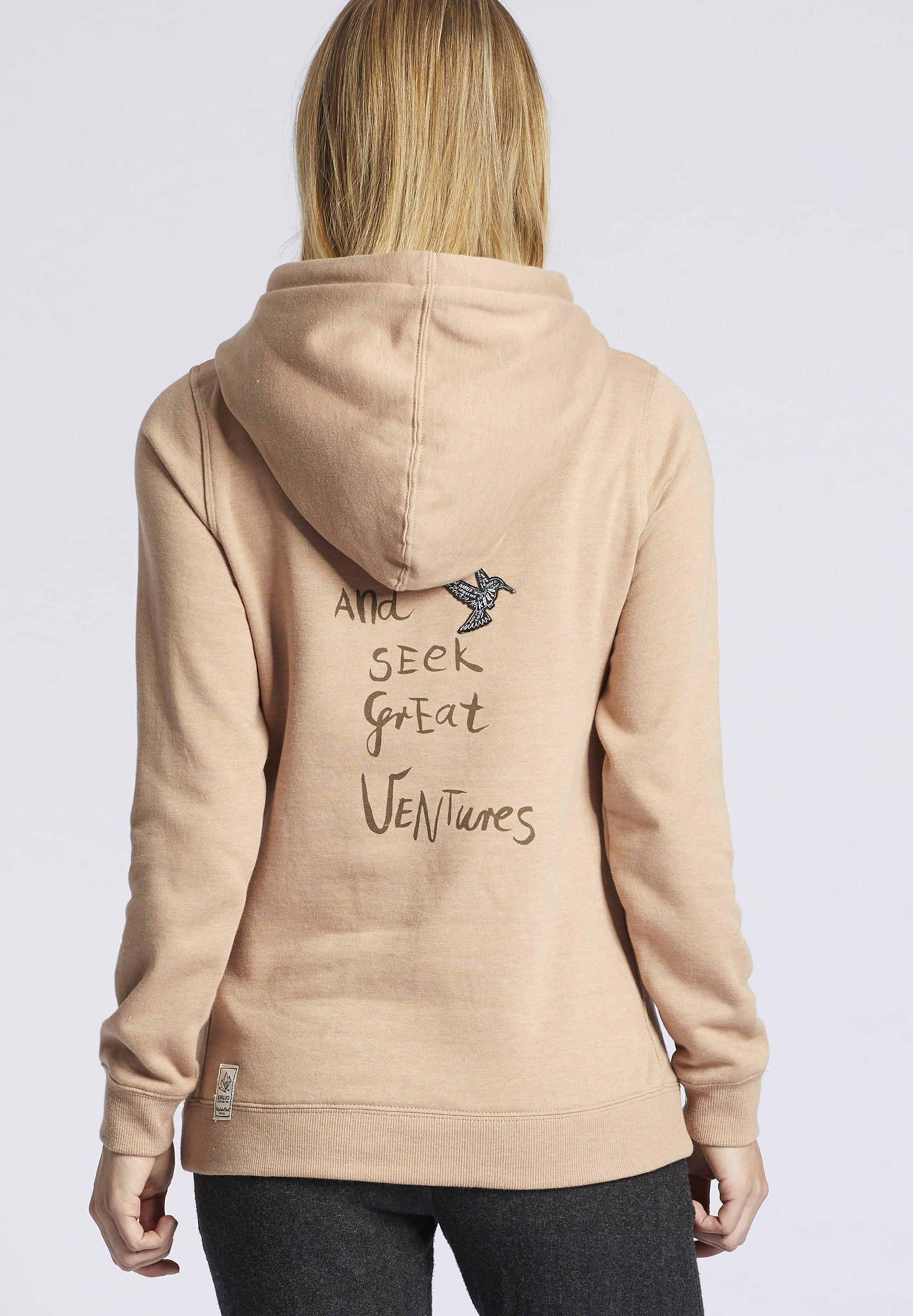 'greta Print' En shirt Khujo Sweat With Gris OPZkXiu