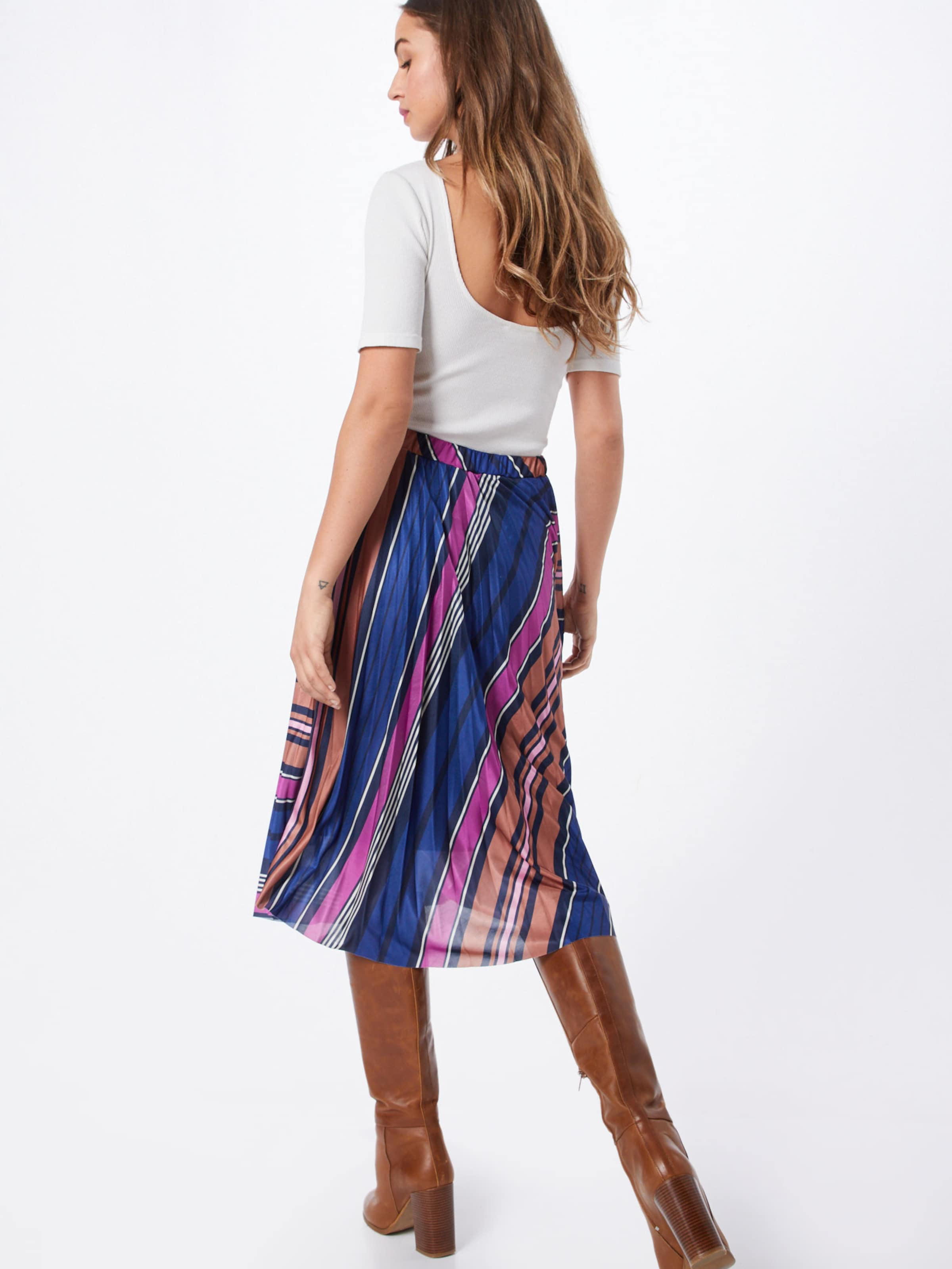 Luxury Skirt' 'sl Soaked In Pippa Jupe En BleuMarron Violet SqzUMVp
