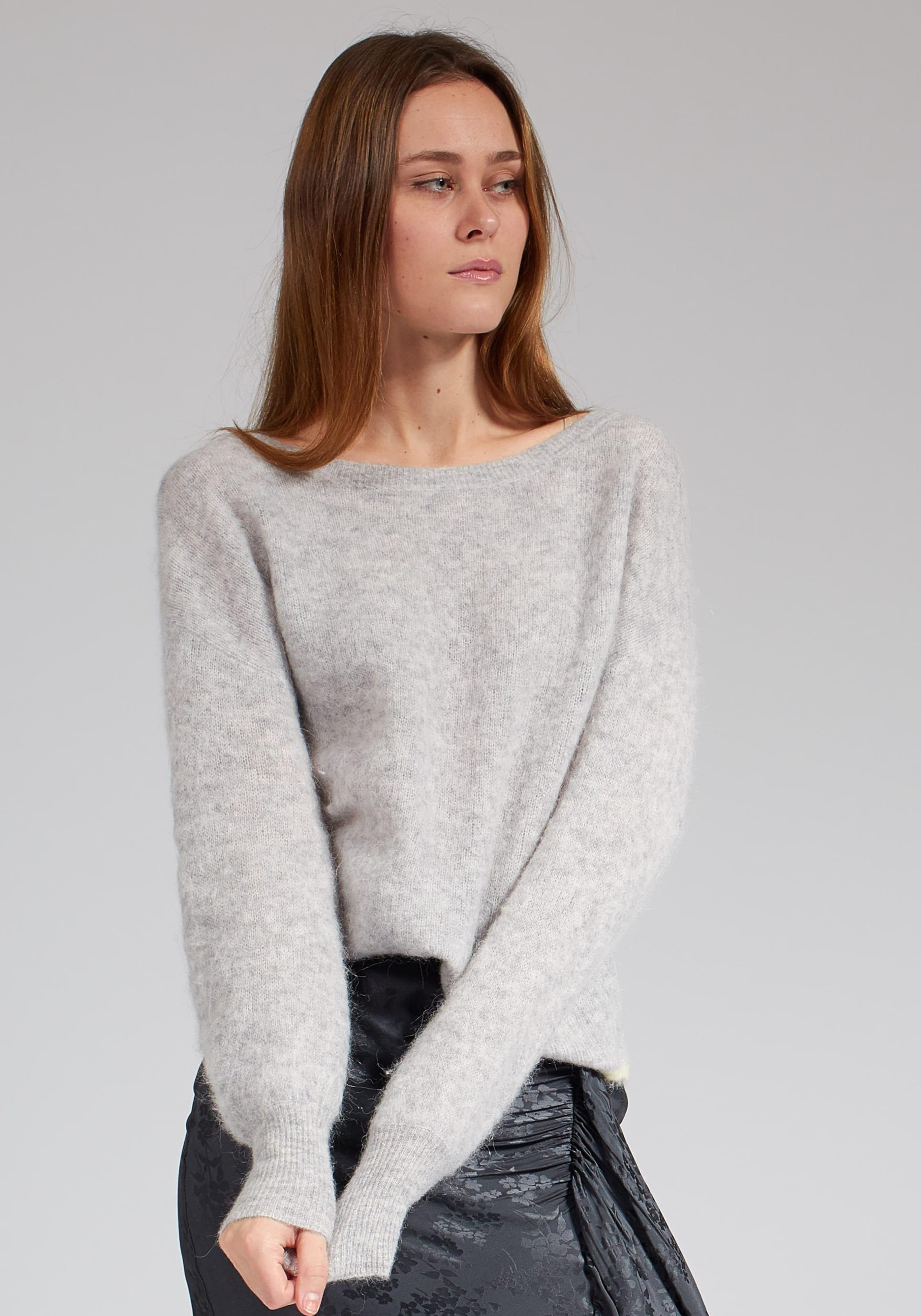 boot In Grau Pullover U ausschnitt Bloom OuXTwZiPk