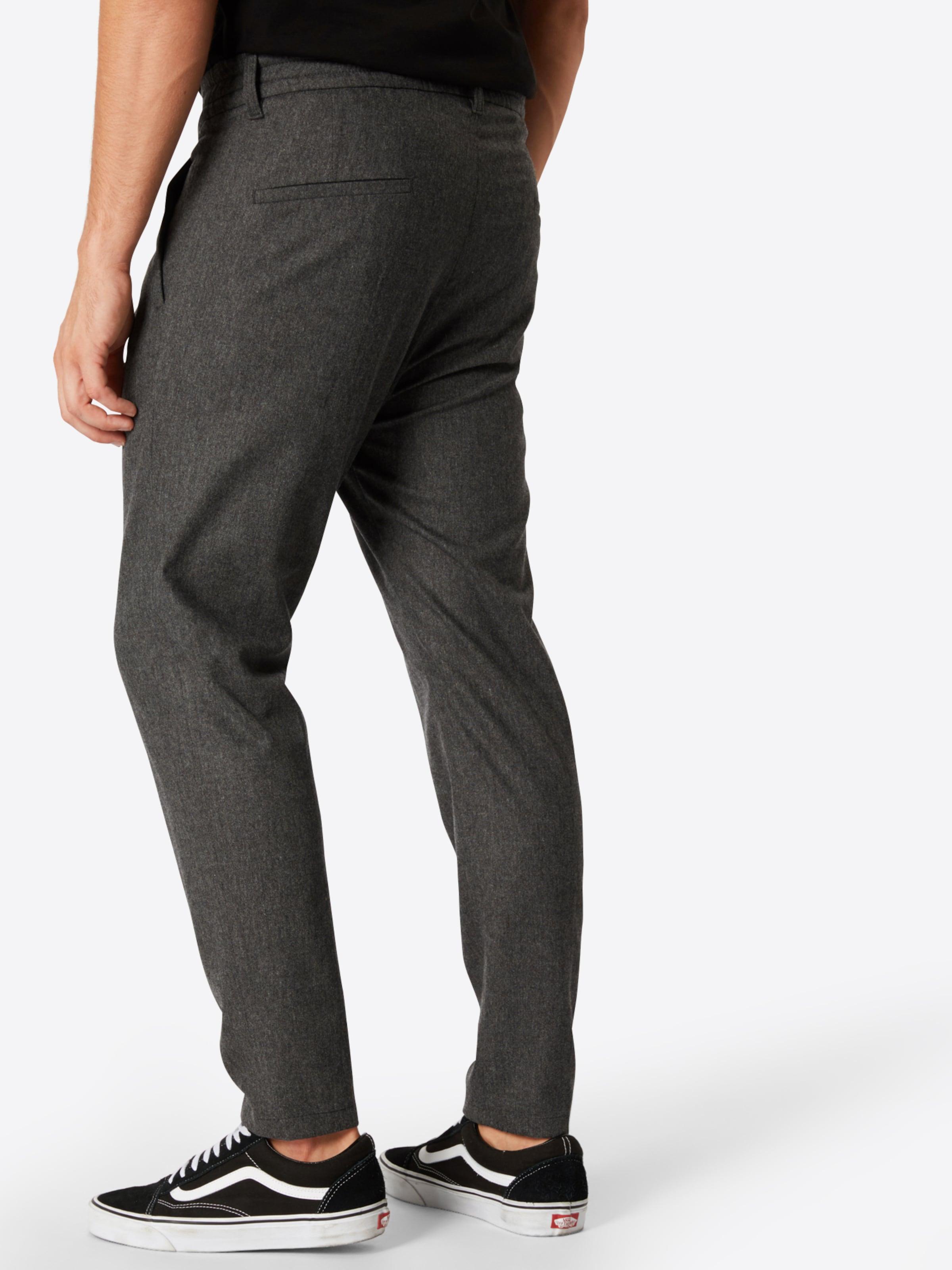 Pantalon Drykorn Plis Foncé 'chasy' En Gris À AjLqR543