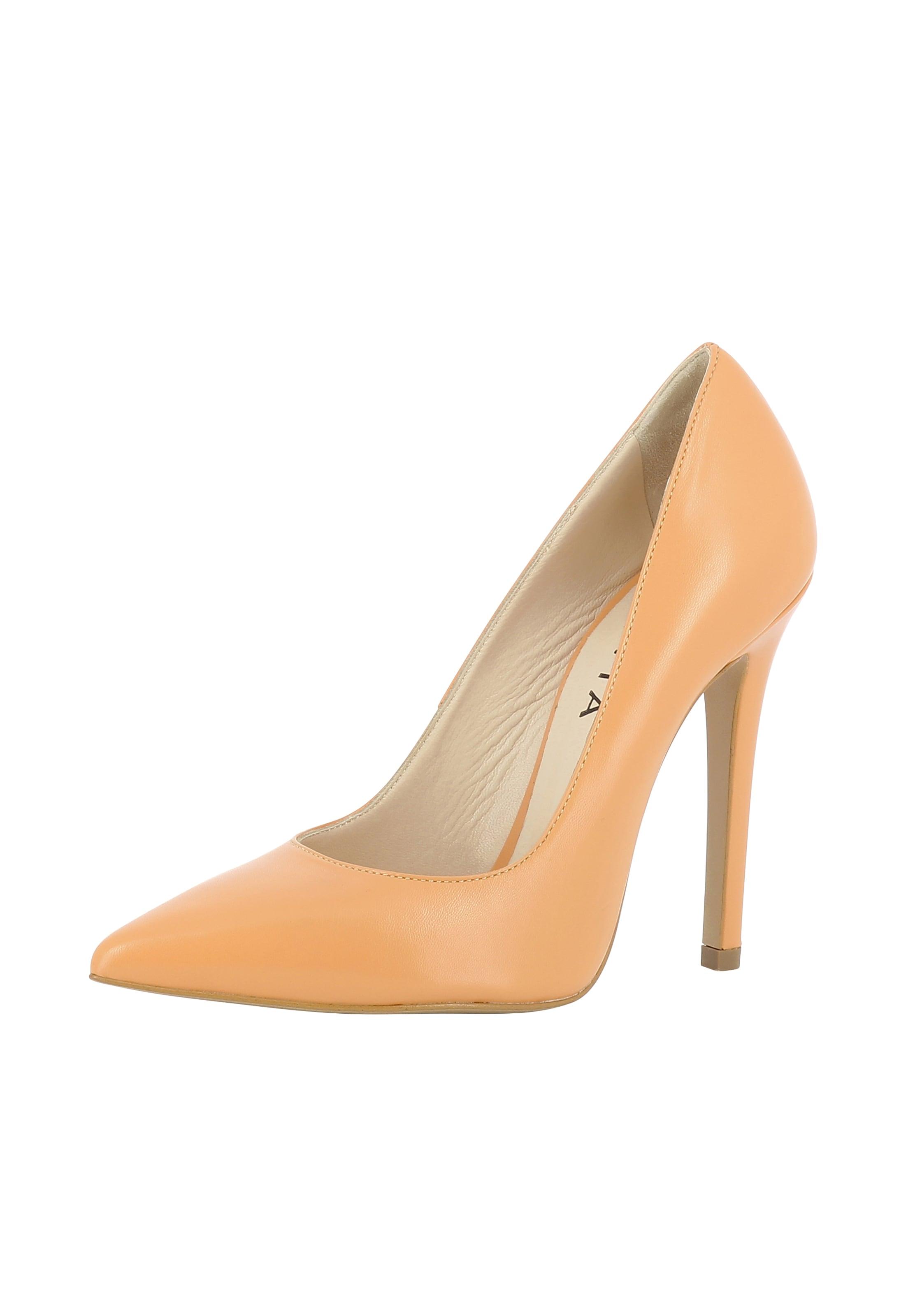 'lisa' Abricot Evita En Escarpins Evita 354RLAjq
