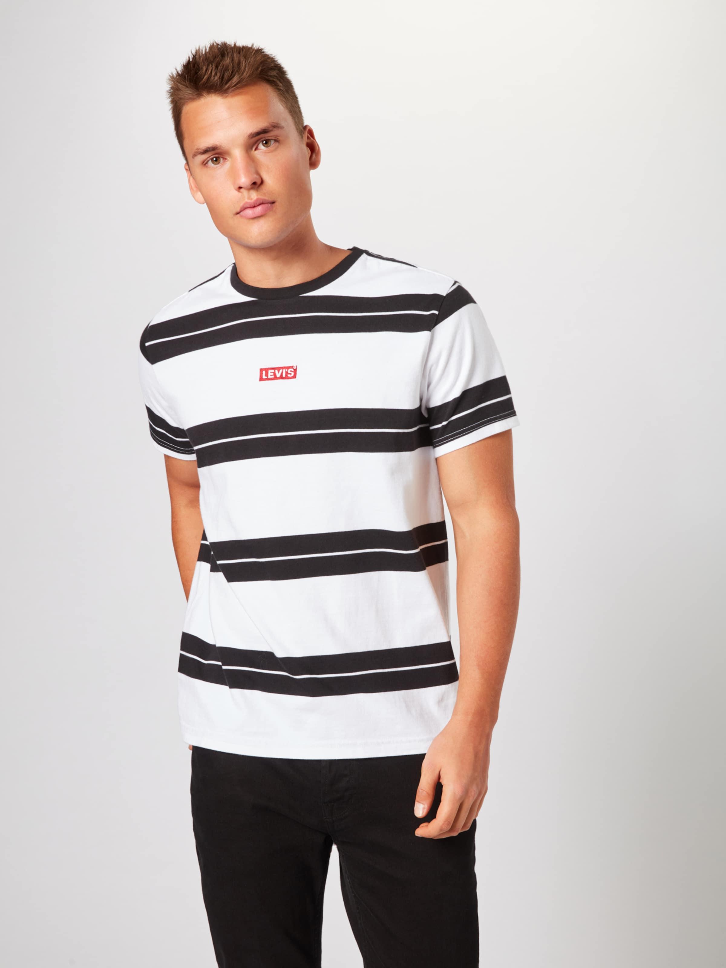 Levi's 'relaxedbabytabtba En T shirt Bytab' Noir Nnyvw80Om