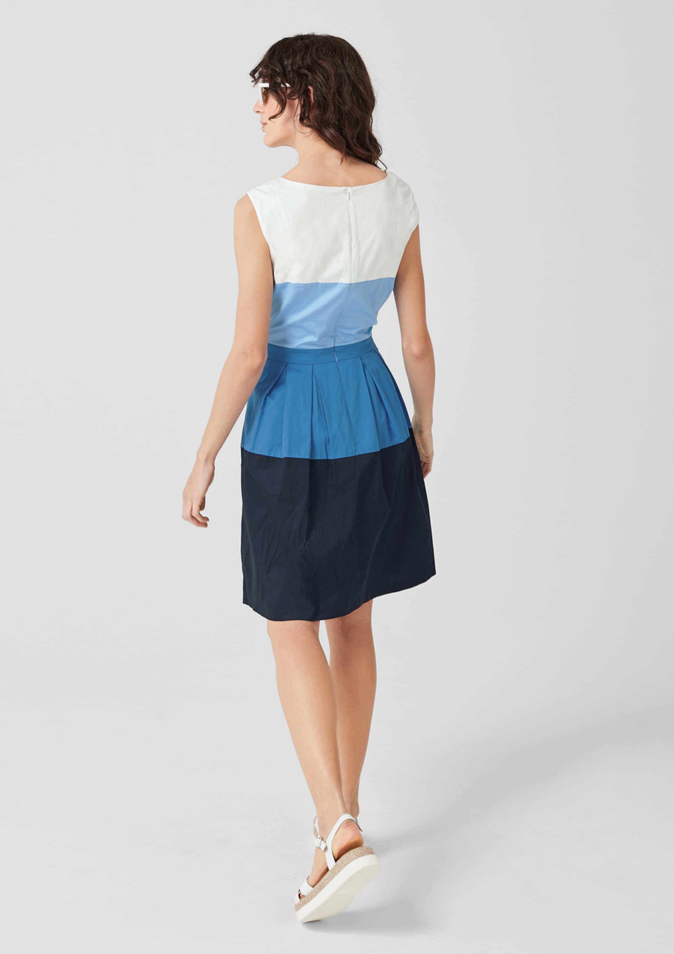 Label S Red In BlauWeiß oliver Kleid wnP0O8kX