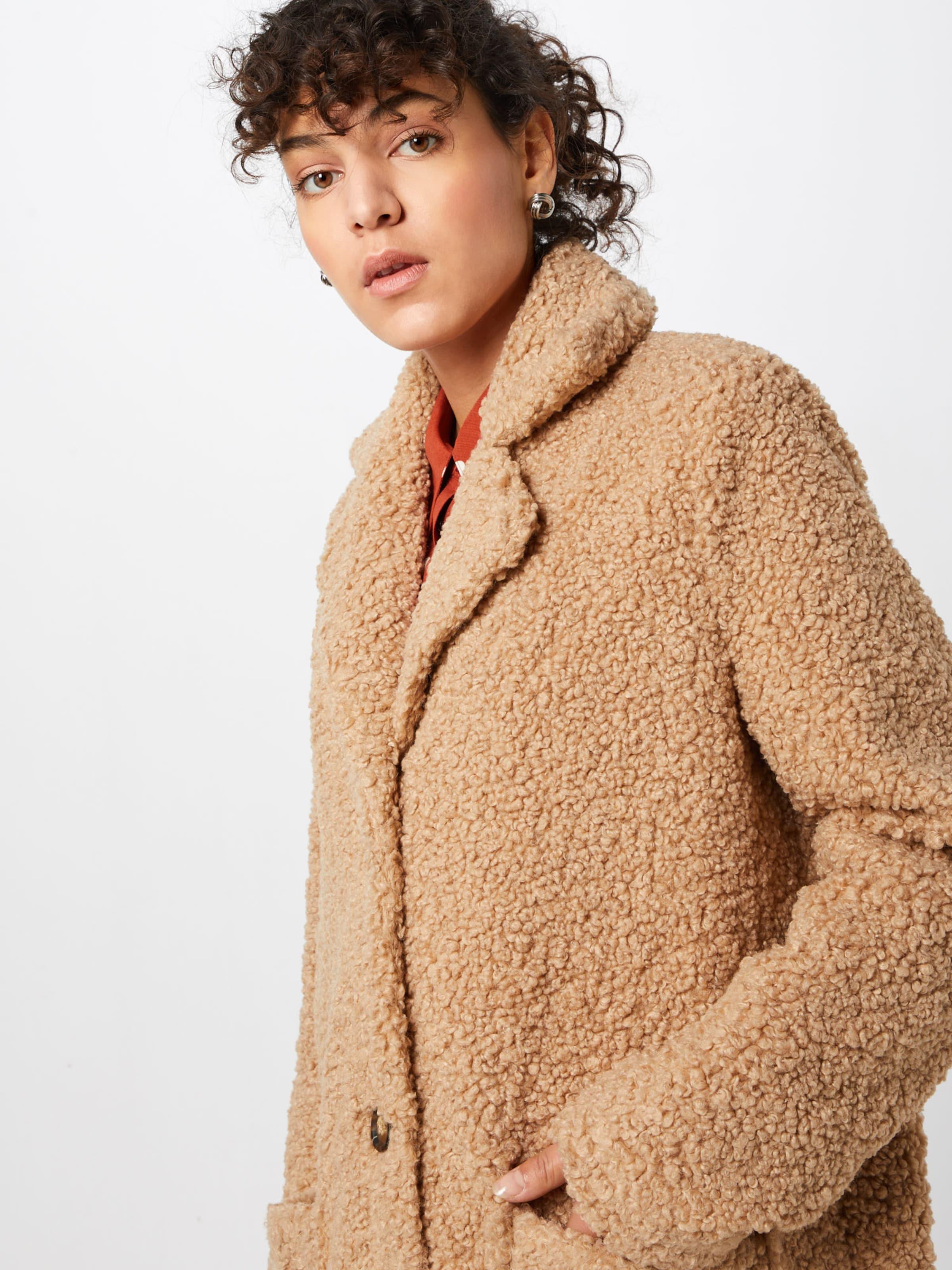 Mantel In Teddy' Kaffe Camel 'balma jMqGSVLUpz