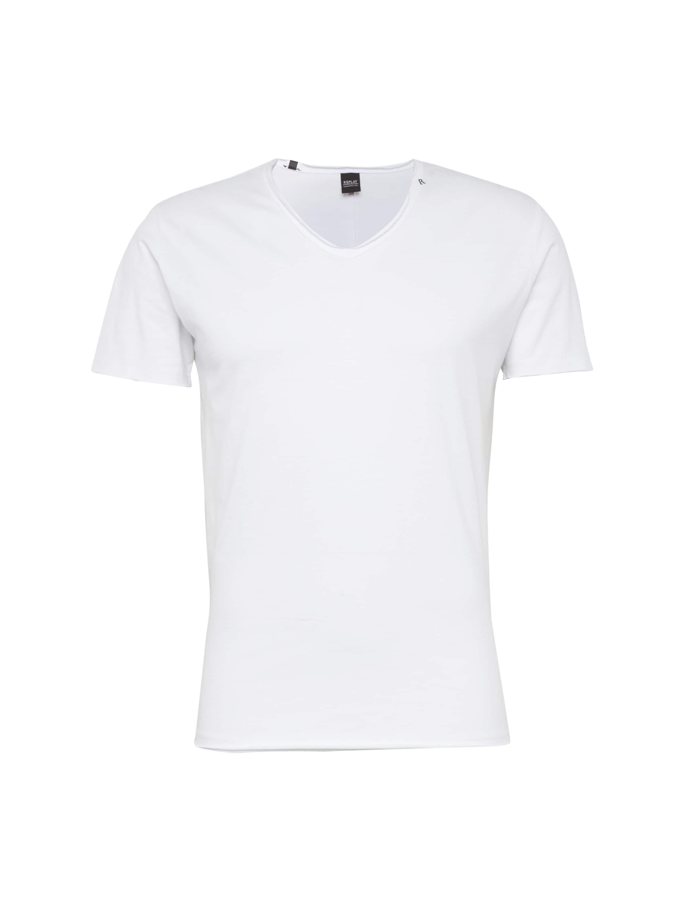 Replay Replay En En T shirt Replay shirt shirt T Blanc En Blanc T xBoCde