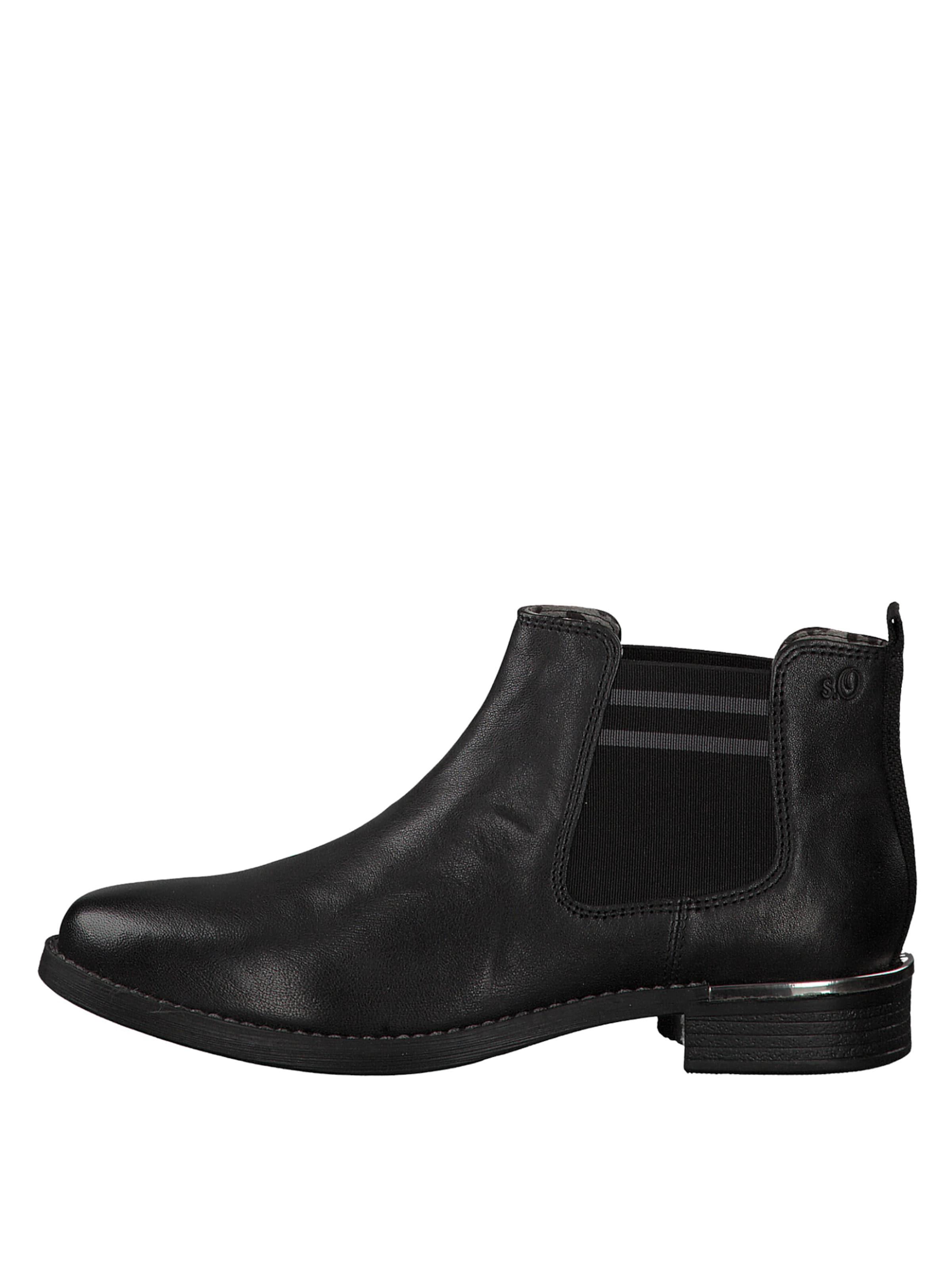 Red Label Boots Noir S Chelsea En oliver DbeH9WEIY2