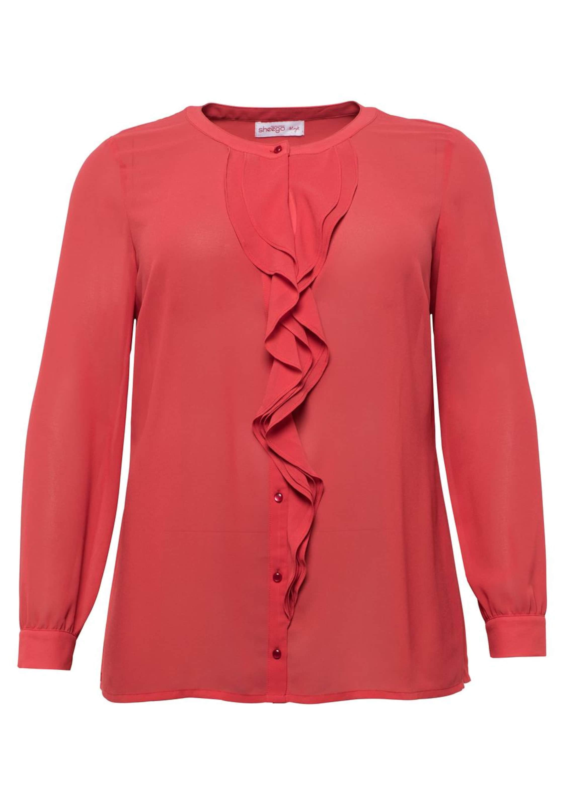 Style Sheego Sheego In Bluse Style In Hellrot Sheego Hellrot Bluse A5qRj4L3