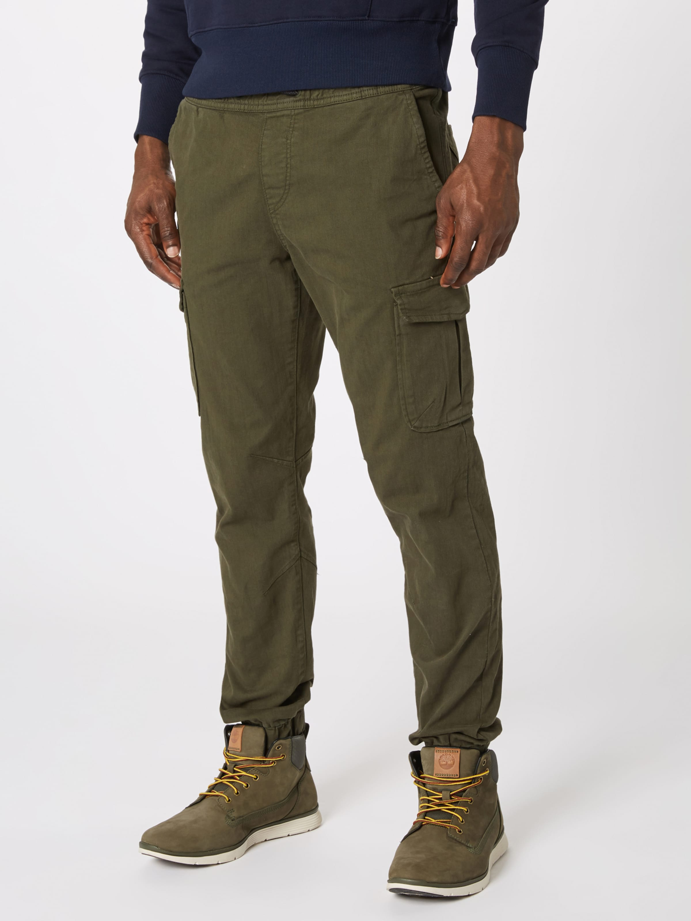 Pantalon Cargo En Tailor Denim Marron Tom xdshBroQCt
