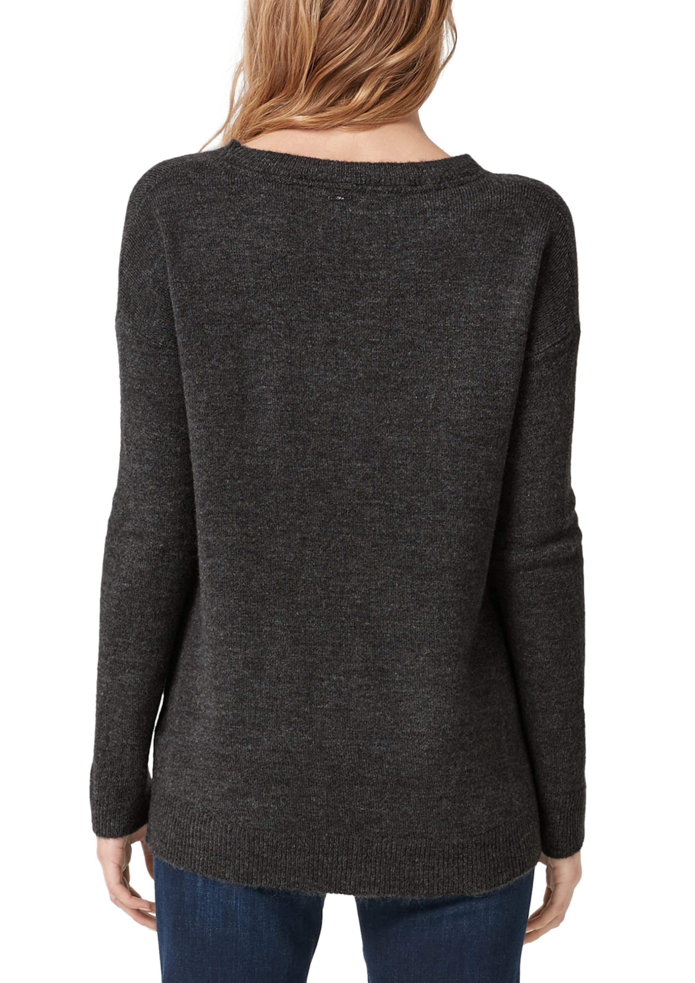 Schwarz Red Label S oliver Pullover In XOk80wnP